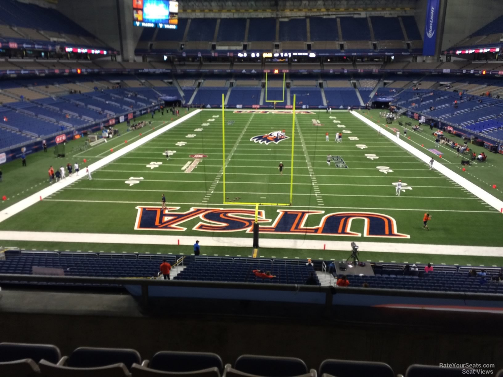 UTSA Roadrunners Seat View for Alamodome Section 223, Row 5