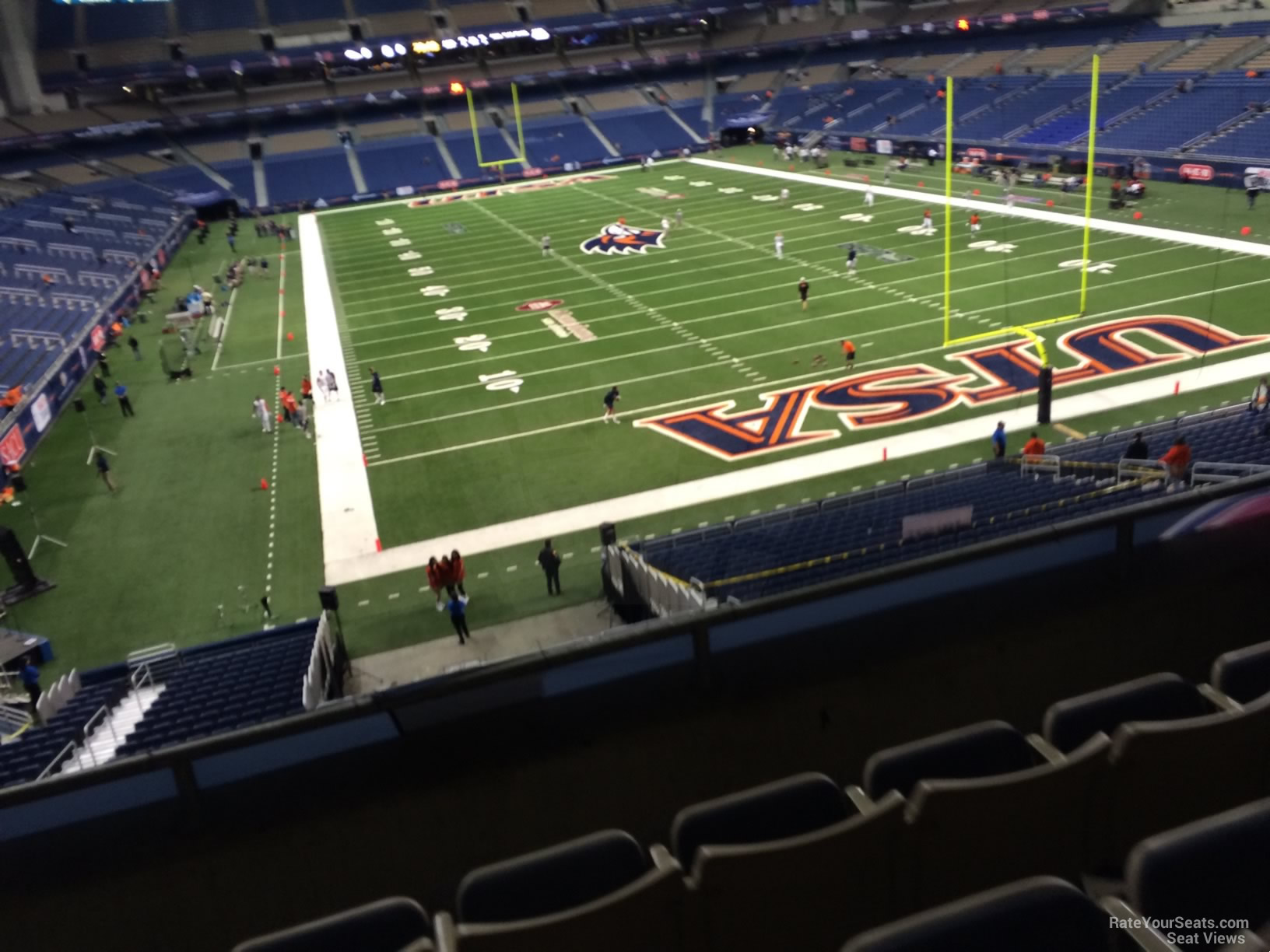 UTSA Roadrunners Seat View for Alamodome Section 225, Row 5