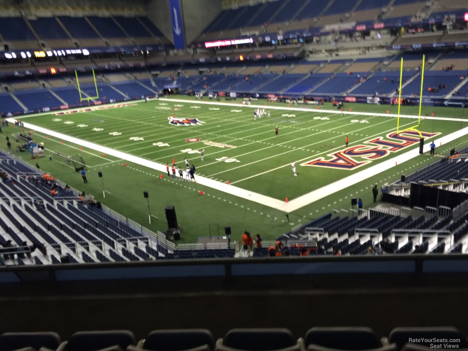 UTSA Roadrunners Seat View for Alamodome Section 227C, Row 5