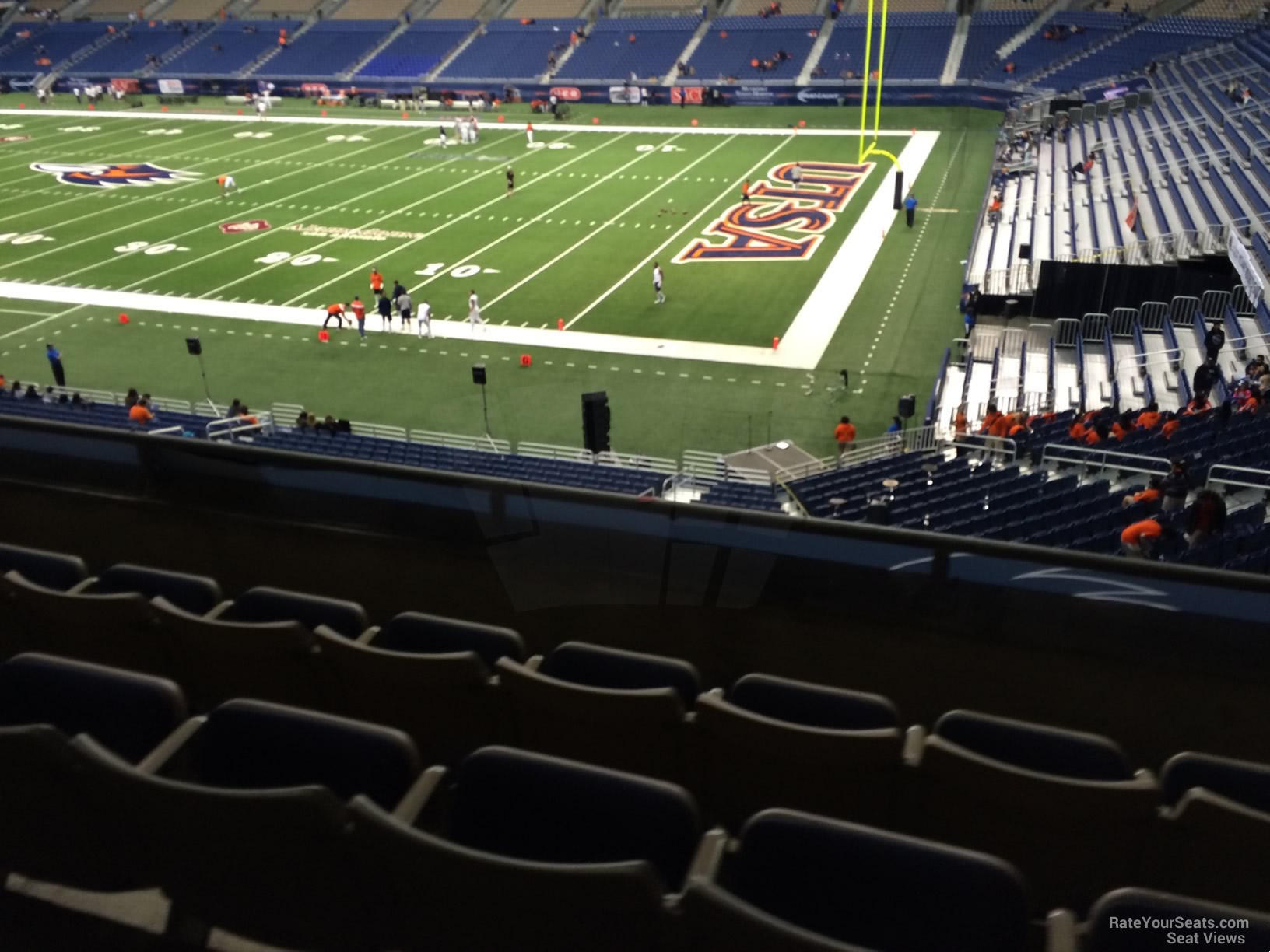 UTSA Roadrunners Seat View for Alamodome Section 229, Row 5