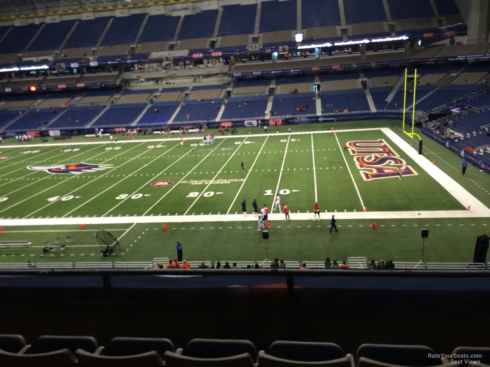 Alamodome Section 231 Utsa Football Rateyourseats Com