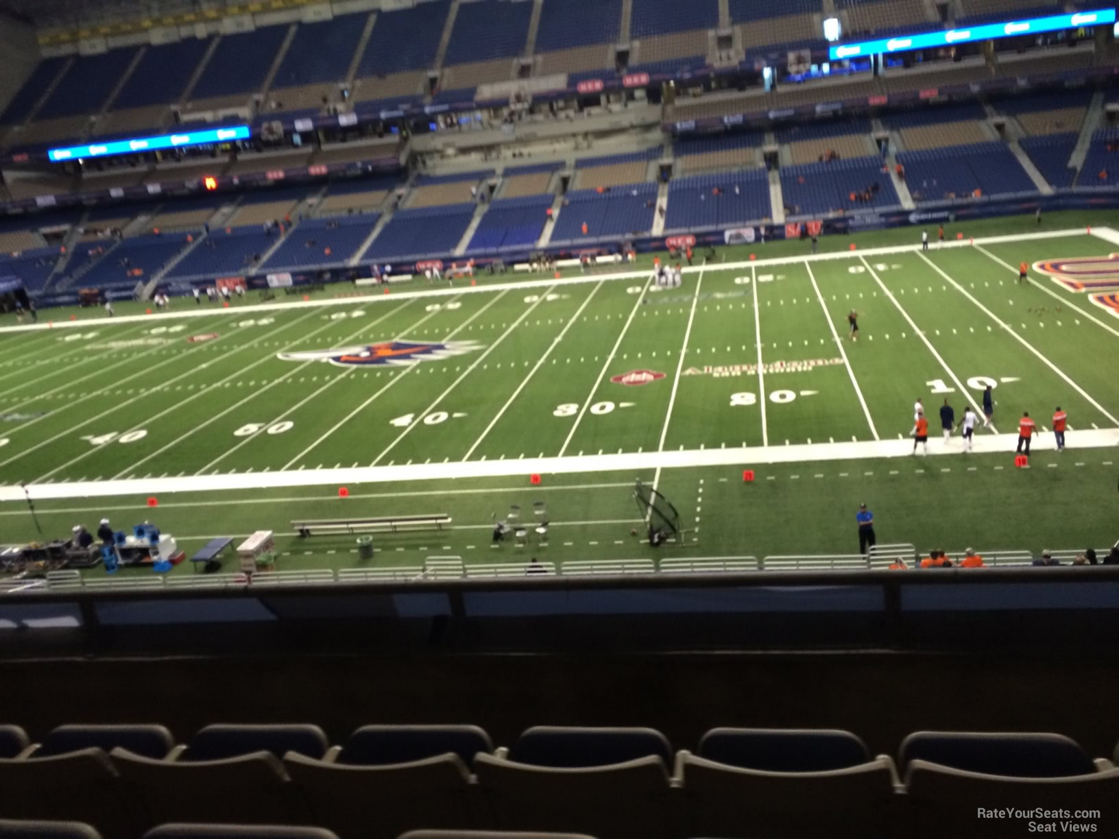 UTSA Roadrunners Seat View for Alamodome Section 232, Row 5