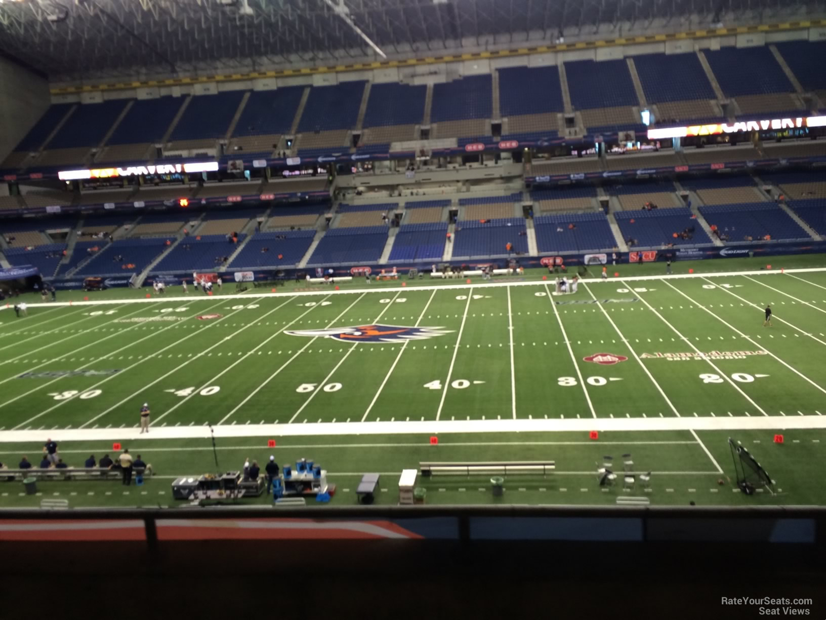 UTSA Roadrunners Seat View for Alamodome Section 233, Row 5