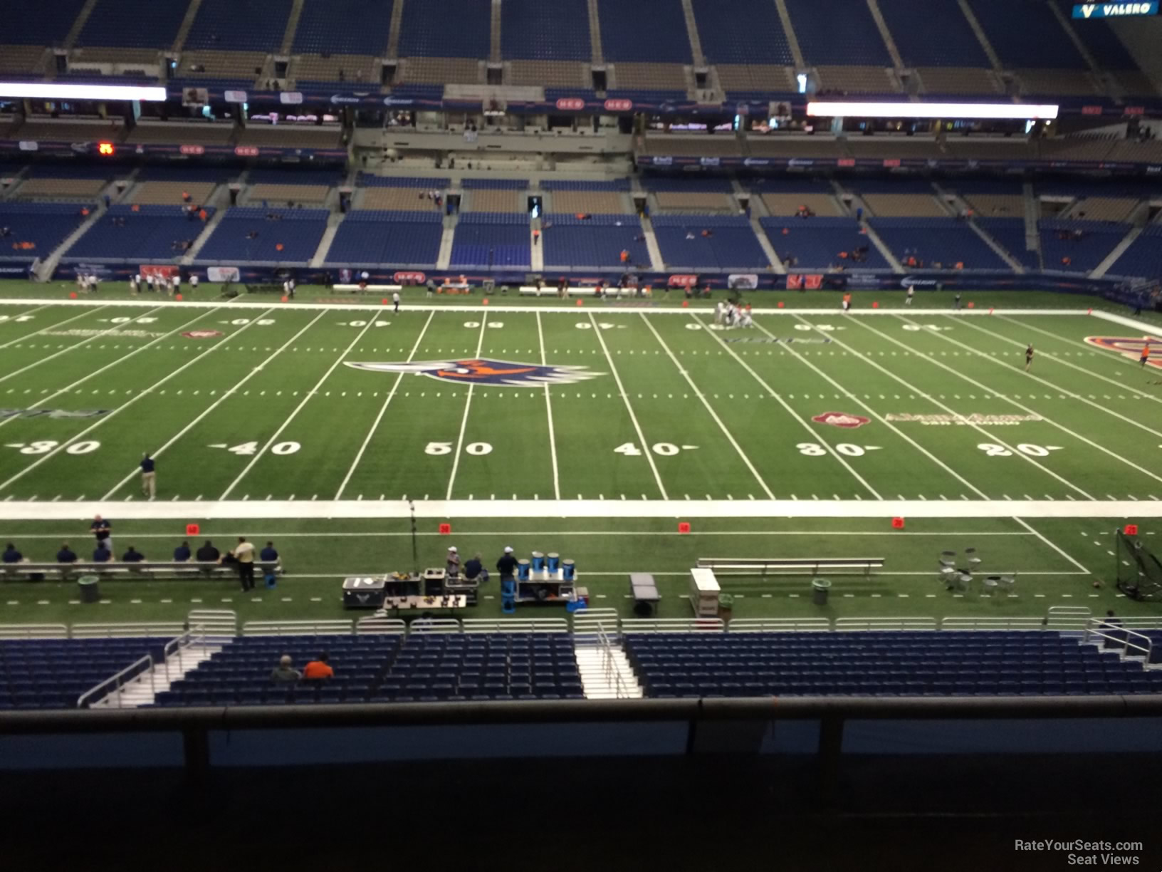 UTSA Roadrunners Seat View for Alamodome Section 234, Row 5