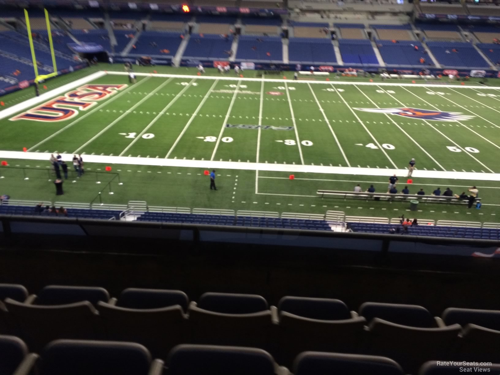 UTSA Roadrunners Seat View for Alamodome Section 236, Row 5