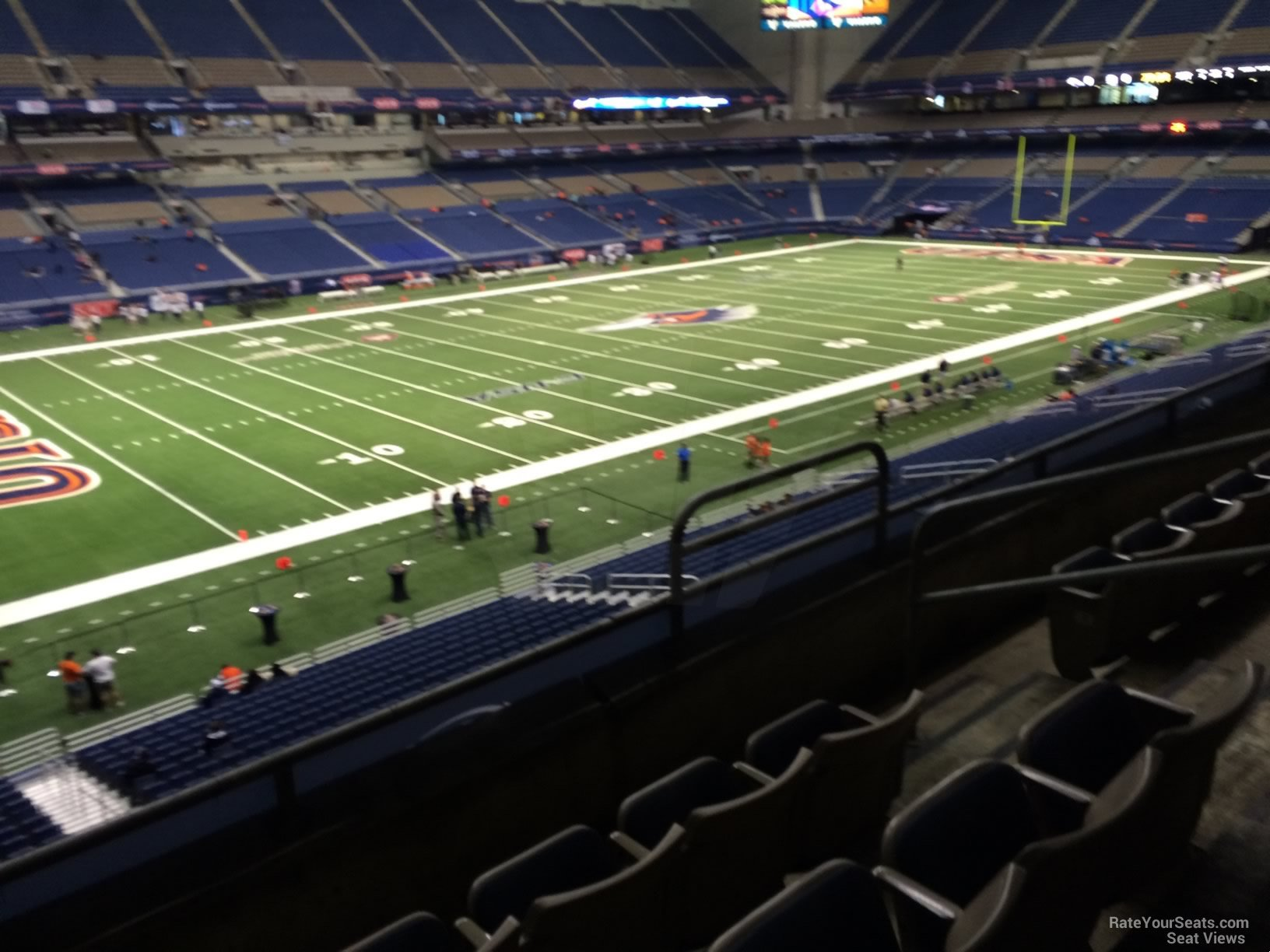Football Seat View for Alamodome Section 239, Row 5