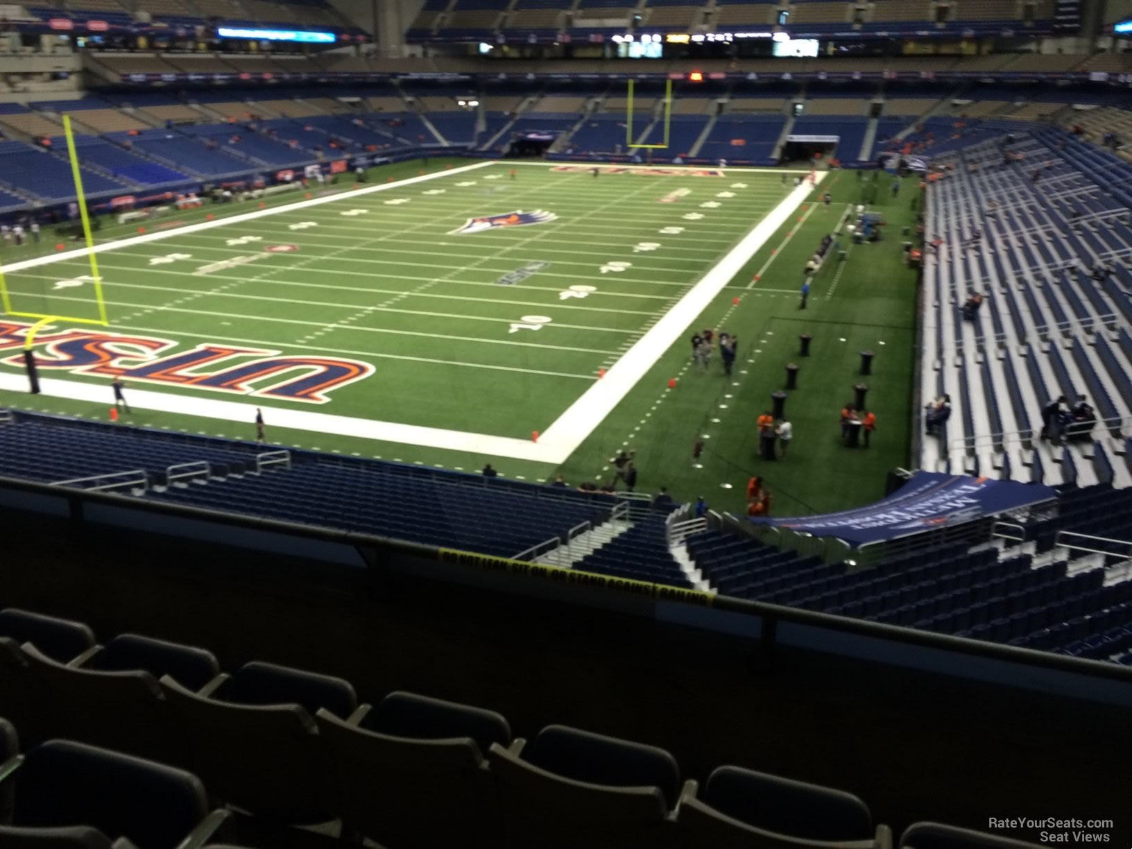 UTSA Roadrunners Seat View for Alamodome Section 242, Row 5