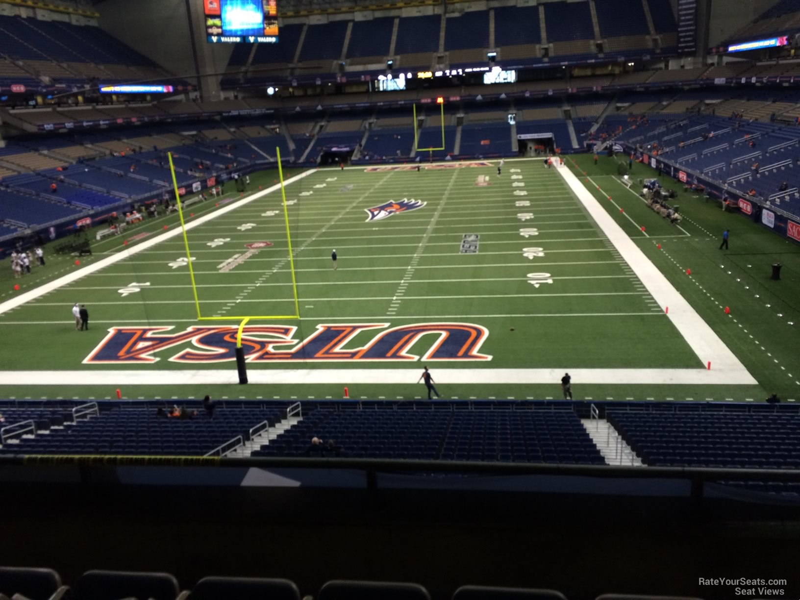 UTSA Roadrunners Seat View for Alamodome Section 244, Row 5