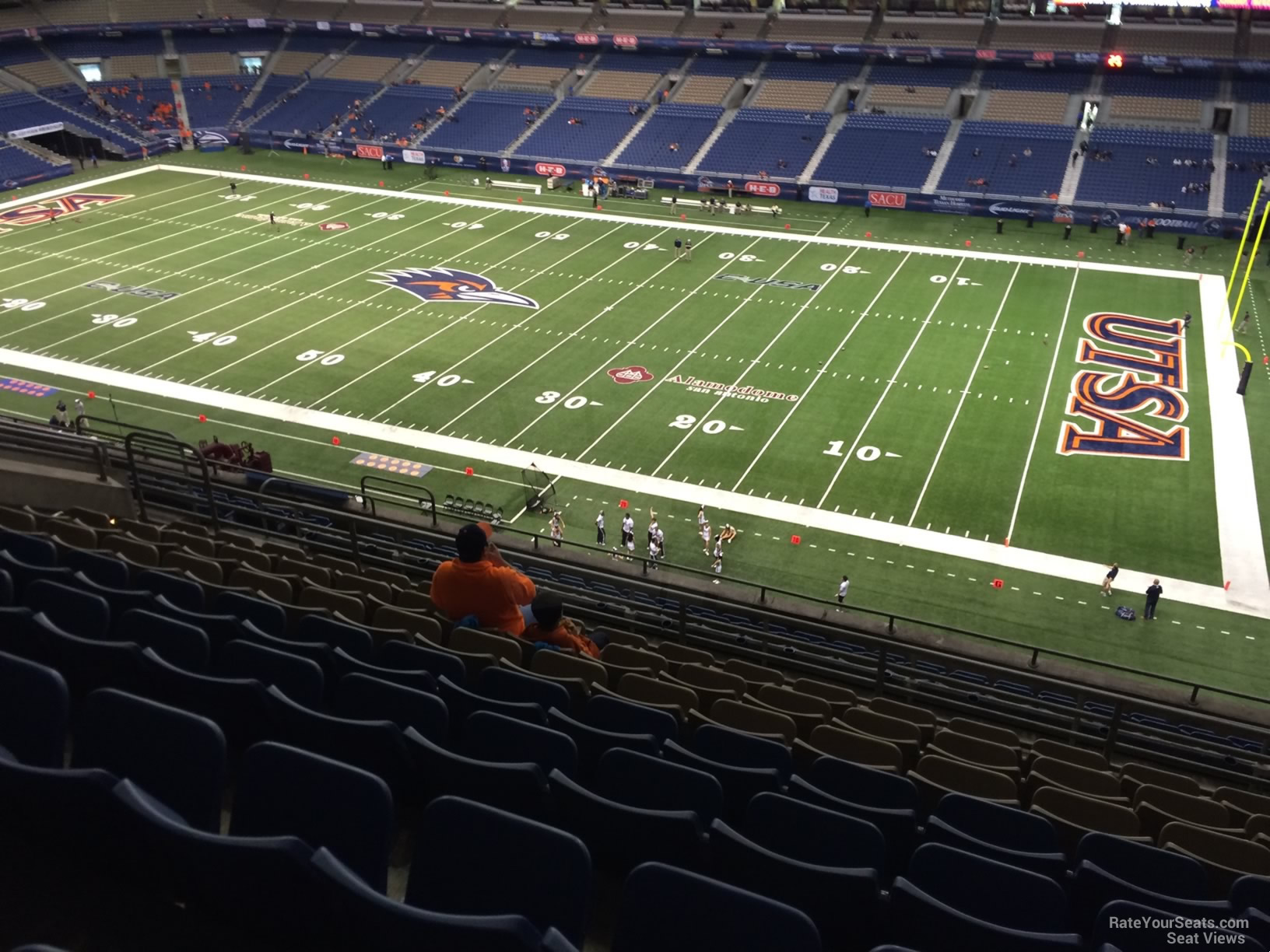 UTSA Roadrunners Seat View for Alamodome Section 309, Row 15