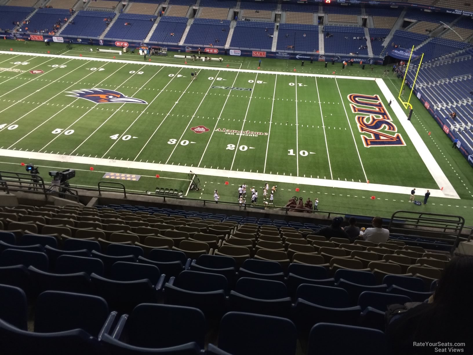 UTSA Roadrunners Seat View for Alamodome Section 310, Row 15