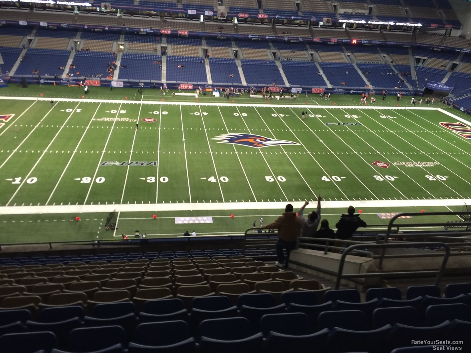 Alamodome Section 314 Utsa Football Rateyourseats Com