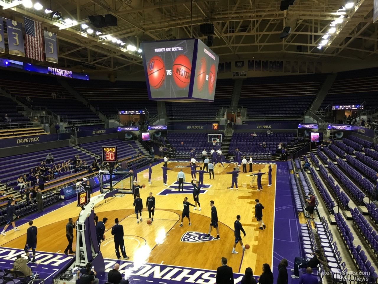 Seat View for Alaska Airlines Arena Section 11, Row 10