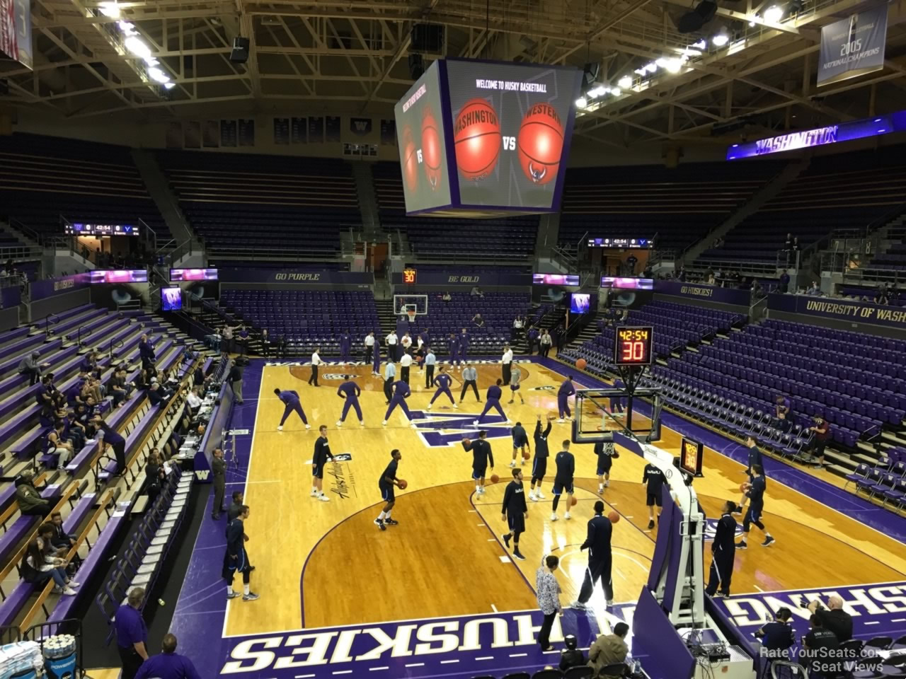 Seat View for Alaska Airlines Arena Section 12, Row 10