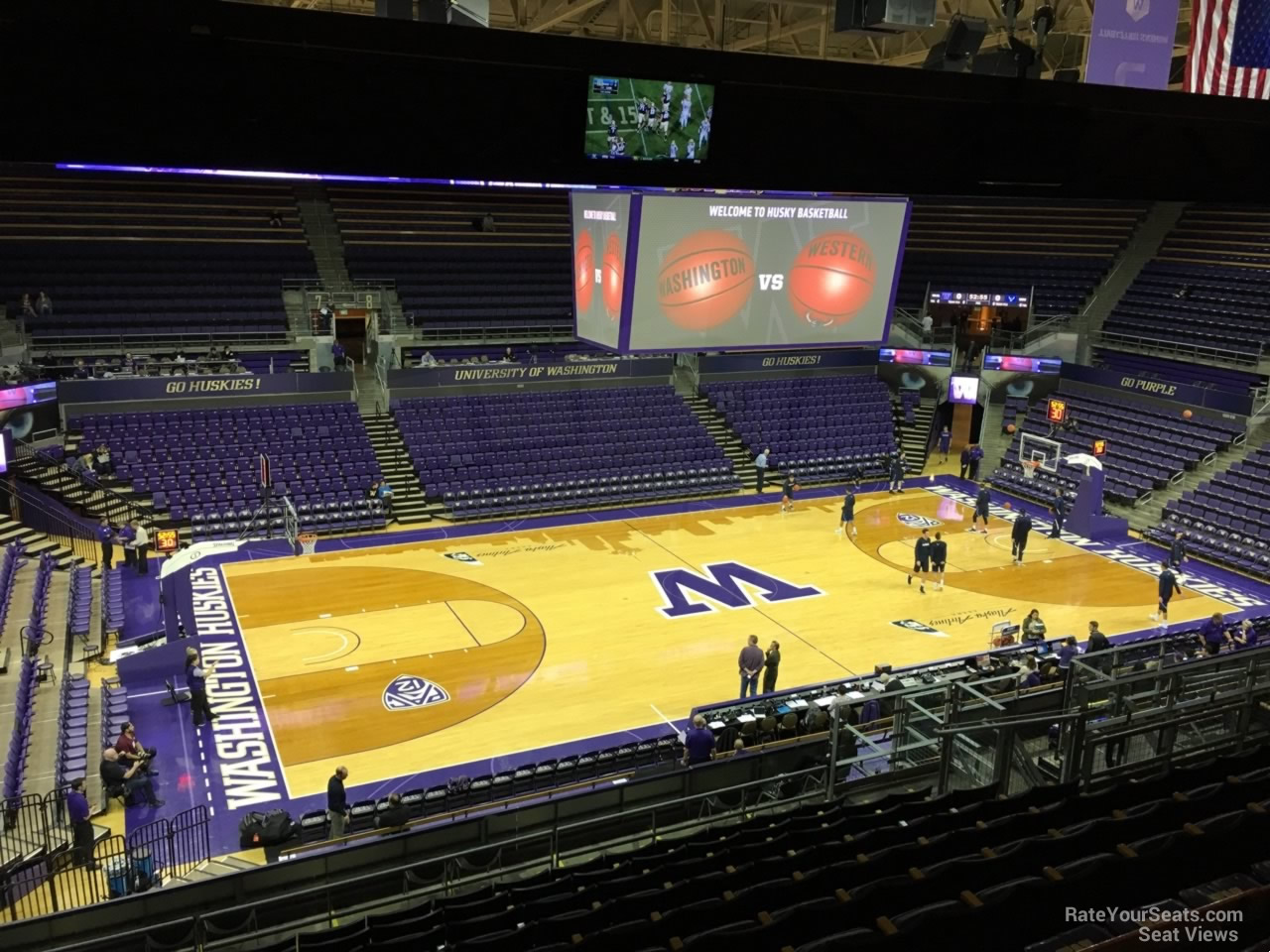 Section 2 seat view