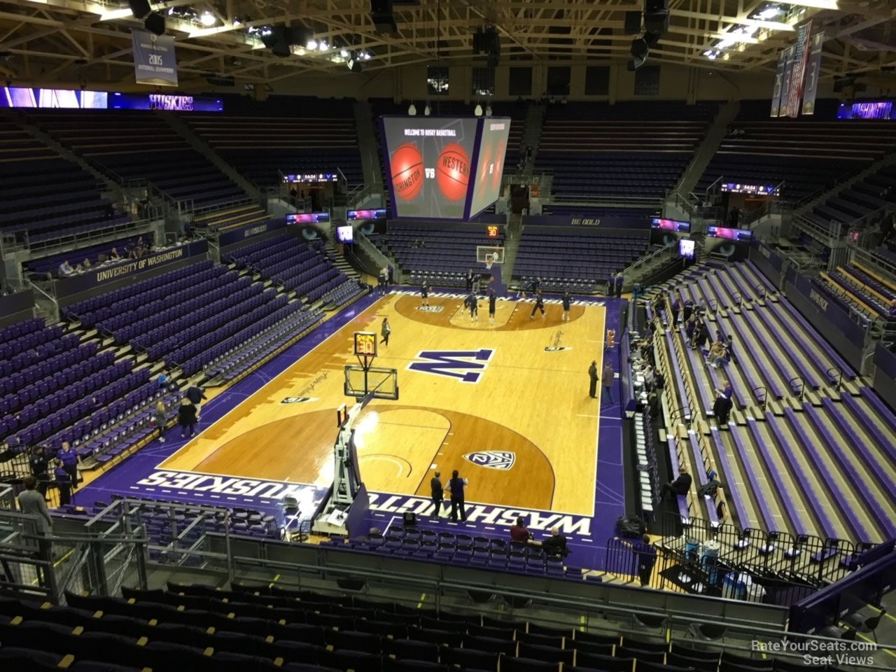 Alaska Airlines Arena Section 4 Rateyourseats Com