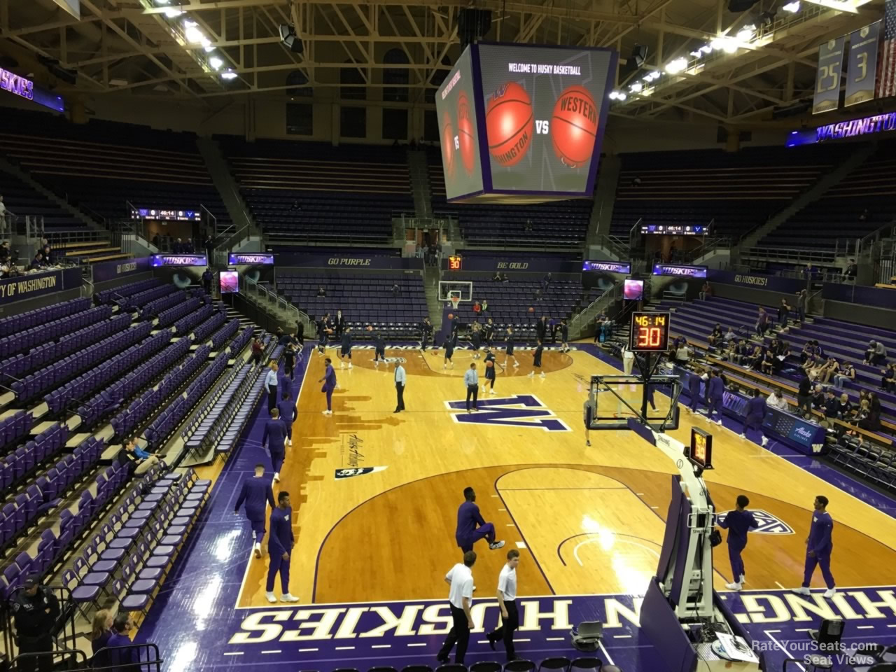 Seat View for Alaska Airlines Arena Section 5, Row 10