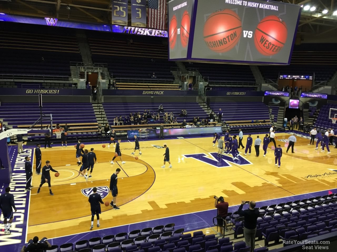 Seat View for Alaska Airlines Arena Section 9, Row 10
