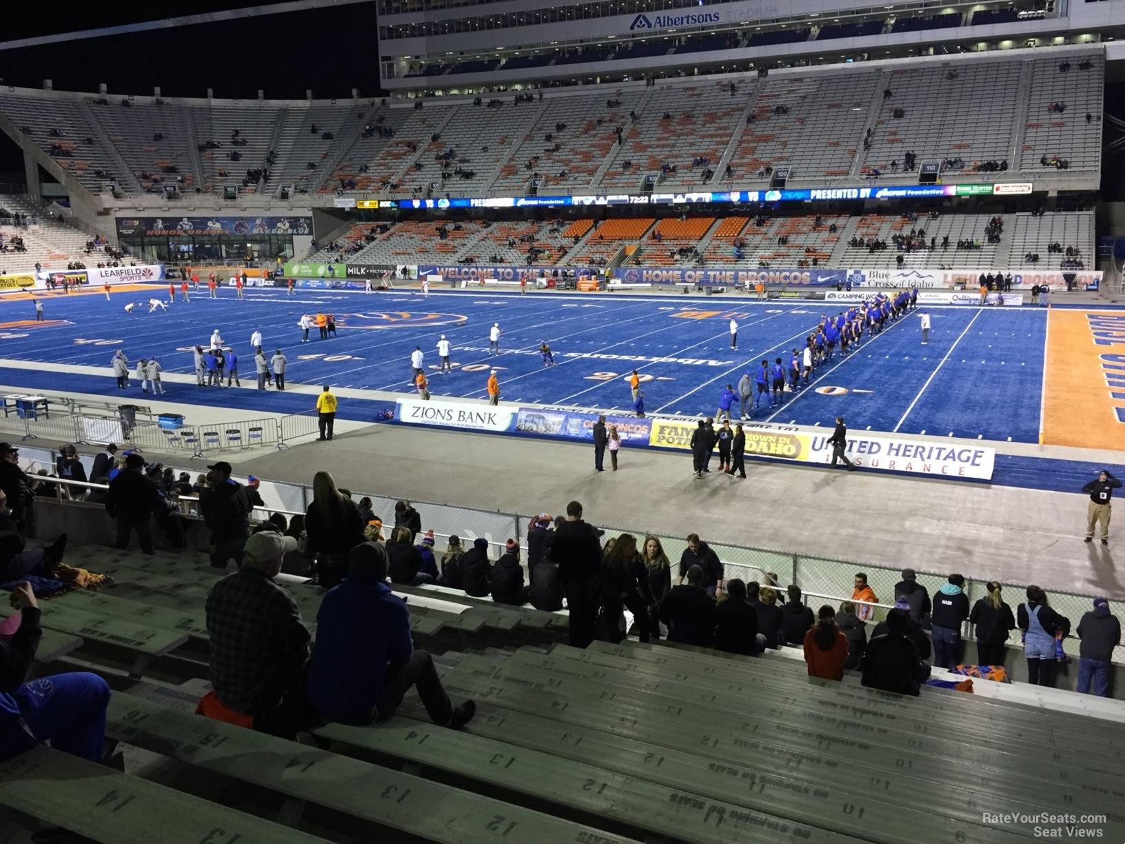 Section 20 at Bronco Stadium - RateYourSeats.com