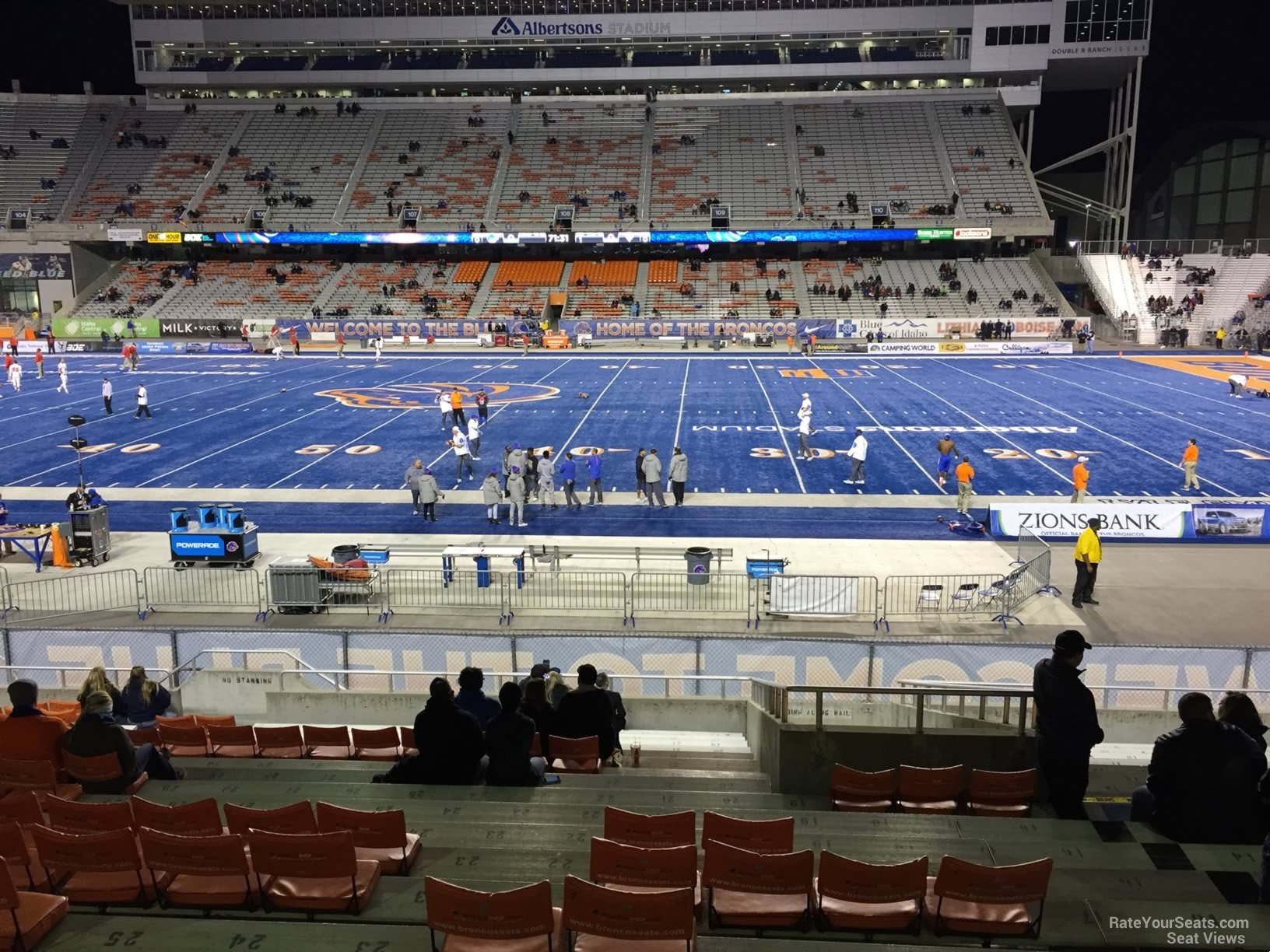 Seat View for Bronco Stadium Section 22, Row V