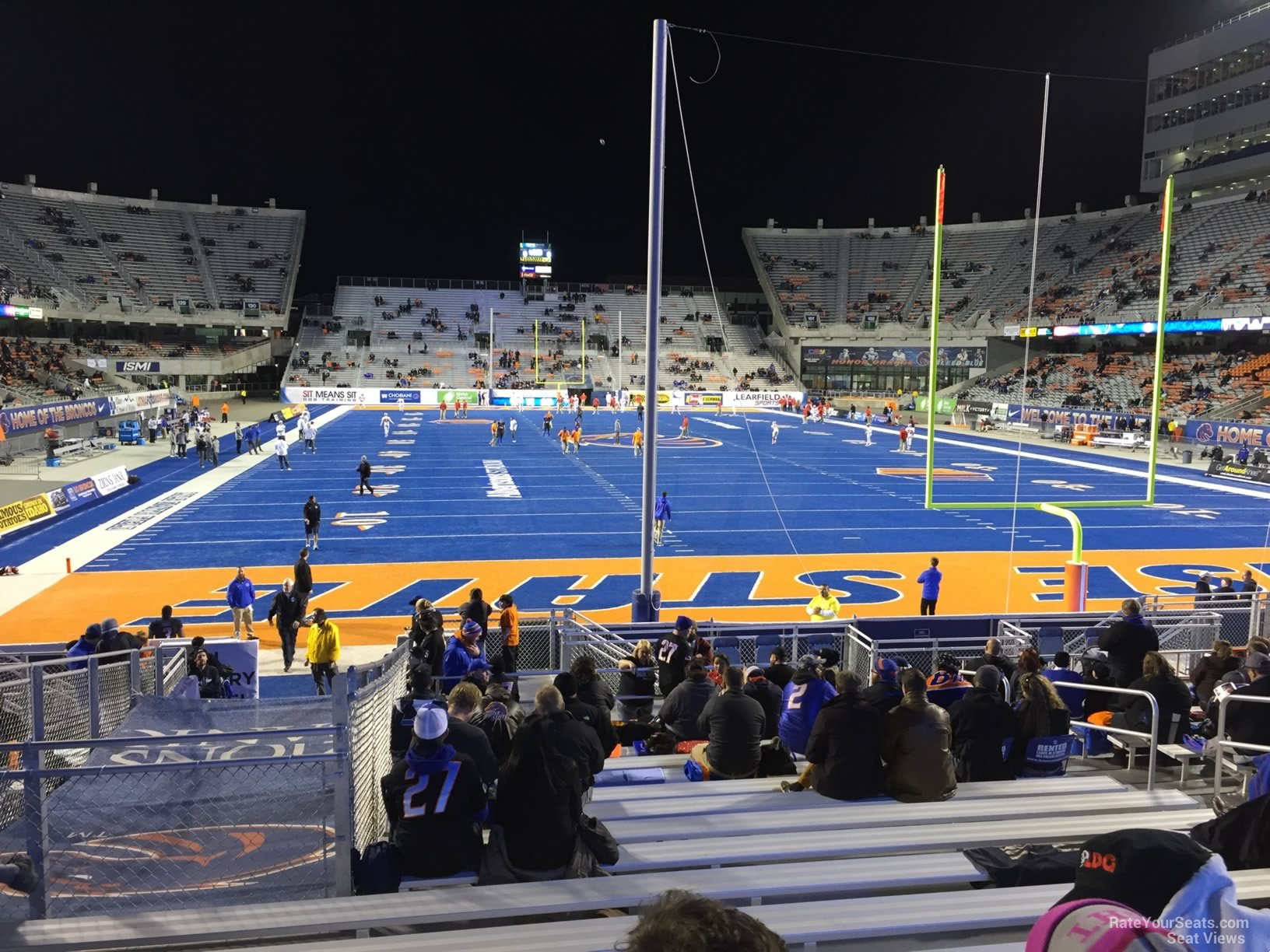 Seat View For Bronco Stadium North End Zone