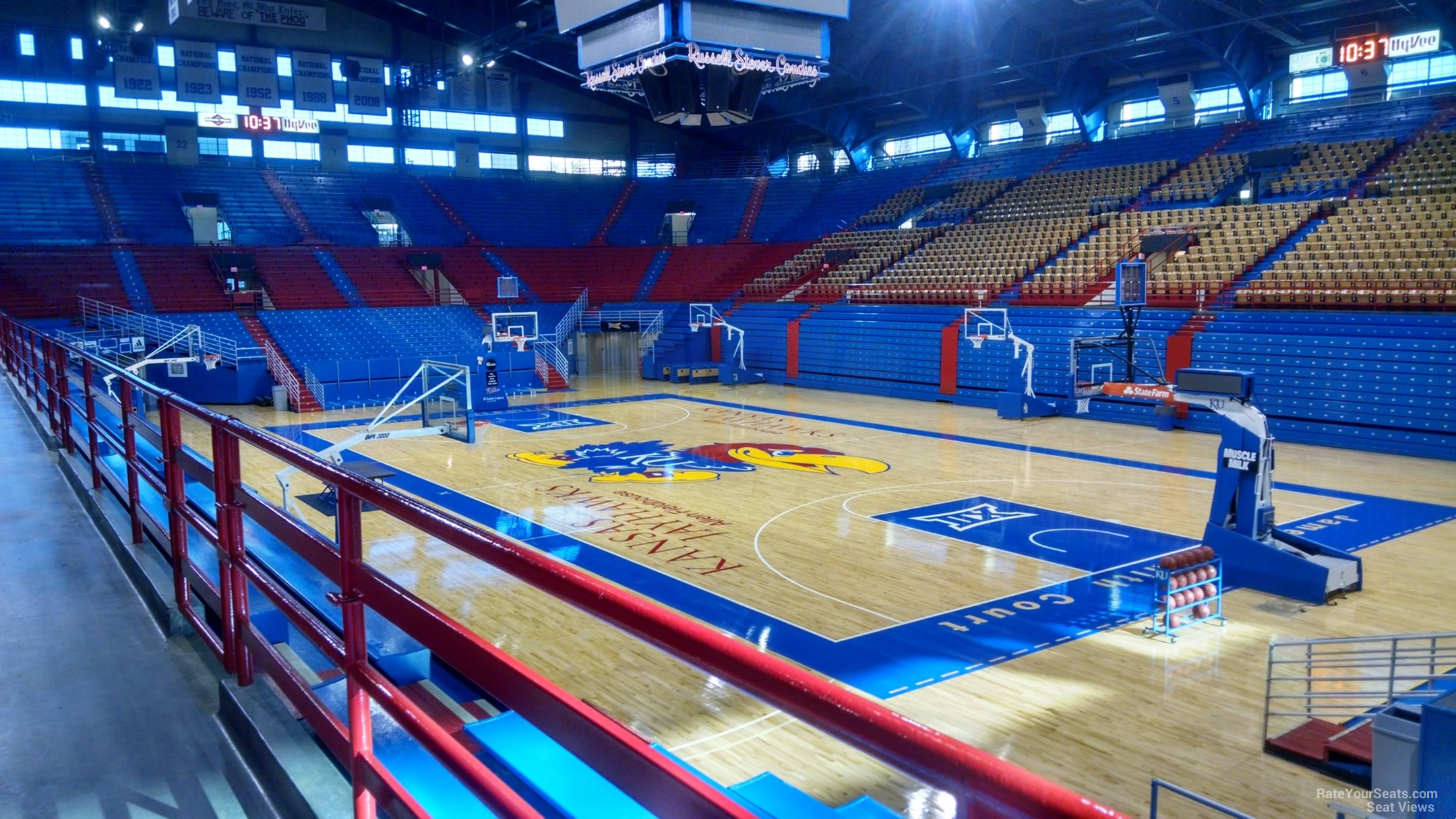 allen fieldhouse 1651 naismith drive, lawrence, ks 66044 - allen fieldhouse is located on the  campus of the university of kansas in southwest lawrence it is the home of the.