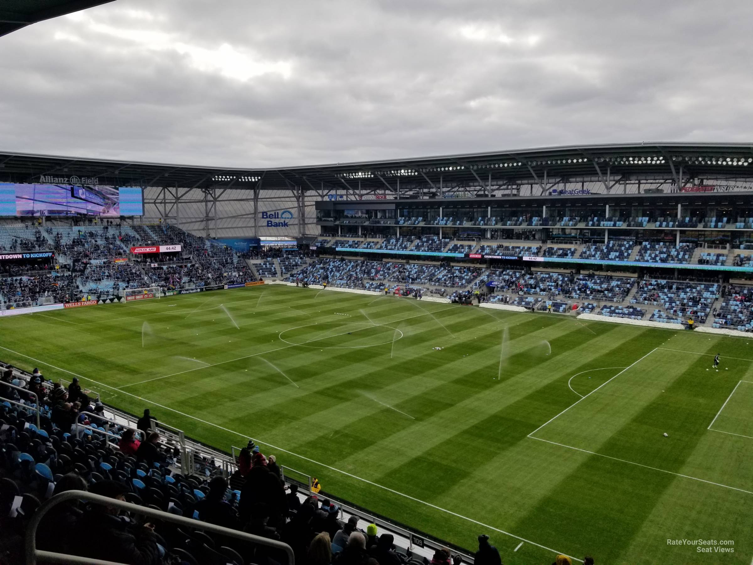 Seat View for Allianz Field Section 108, Row 14