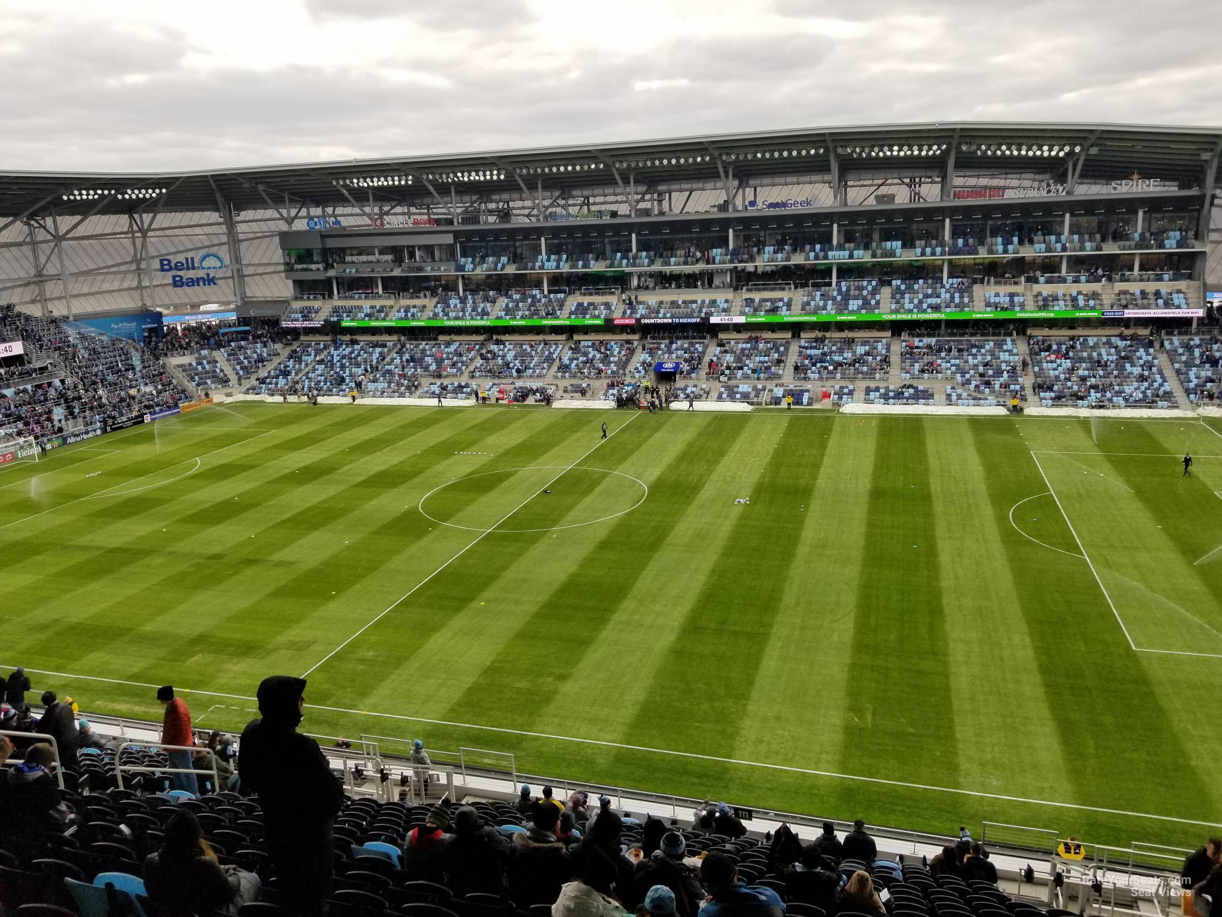 Seat View for Allianz Field Section 111, Row 21