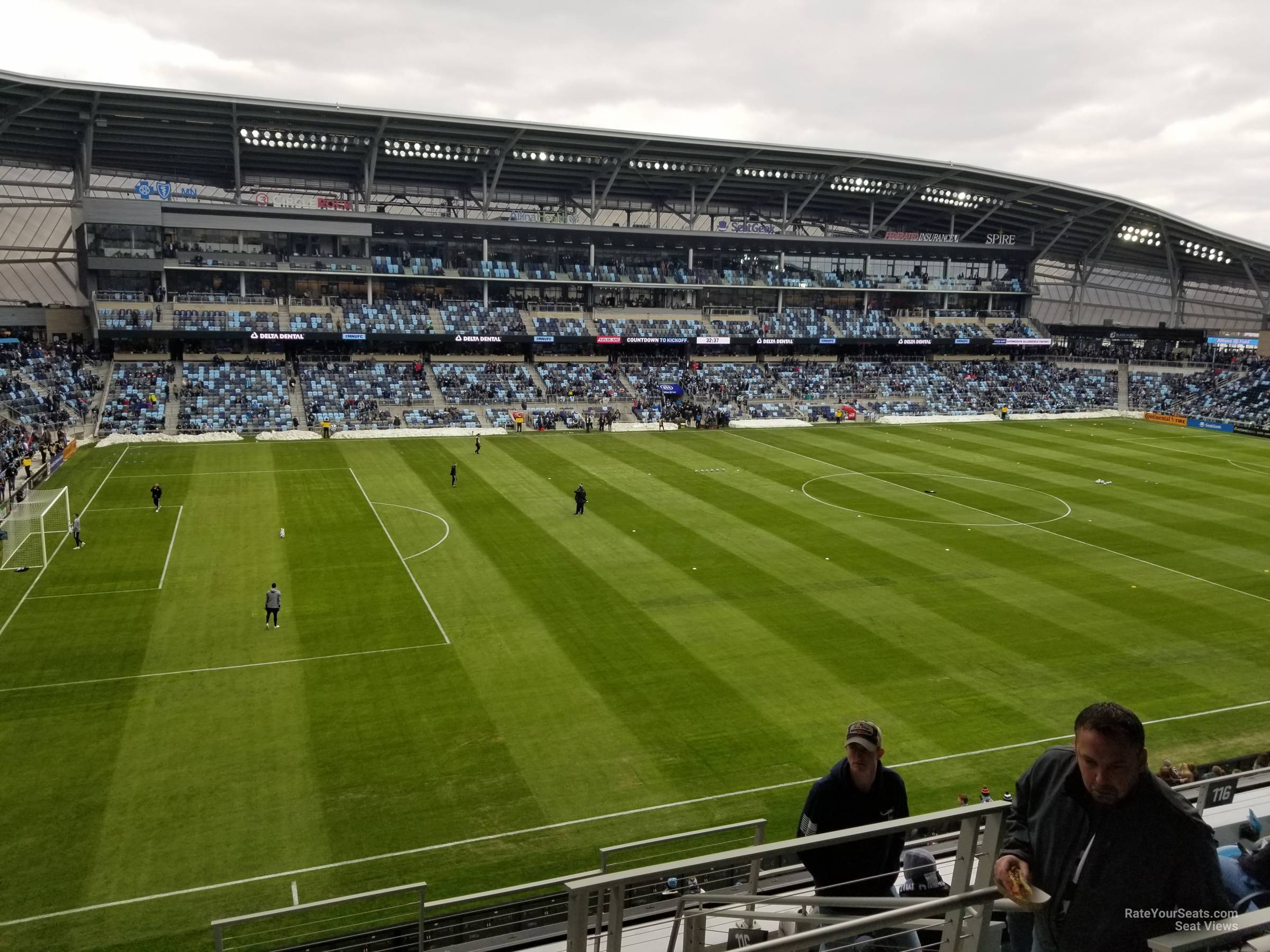 Seat View for Allianz Field Section 117, Row 7