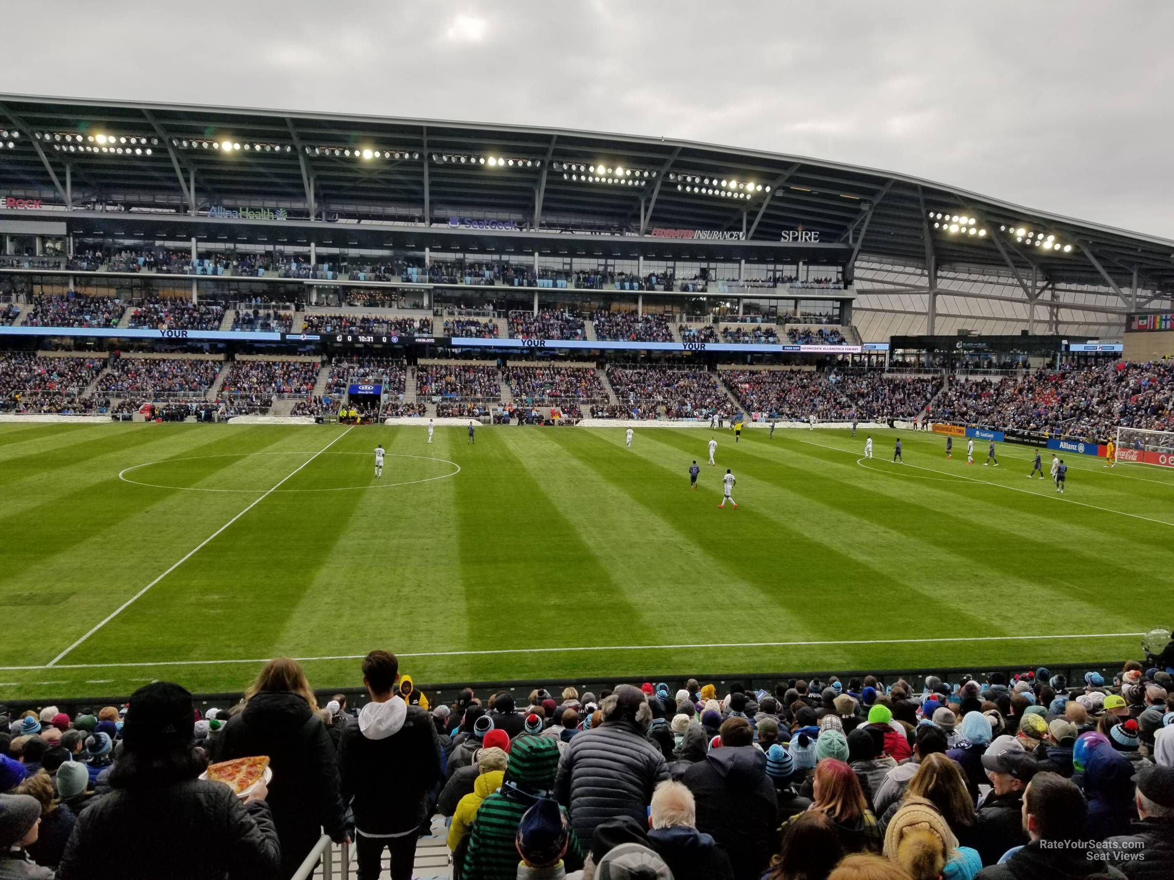 Seat View for Allianz Field Section 12, Row 18