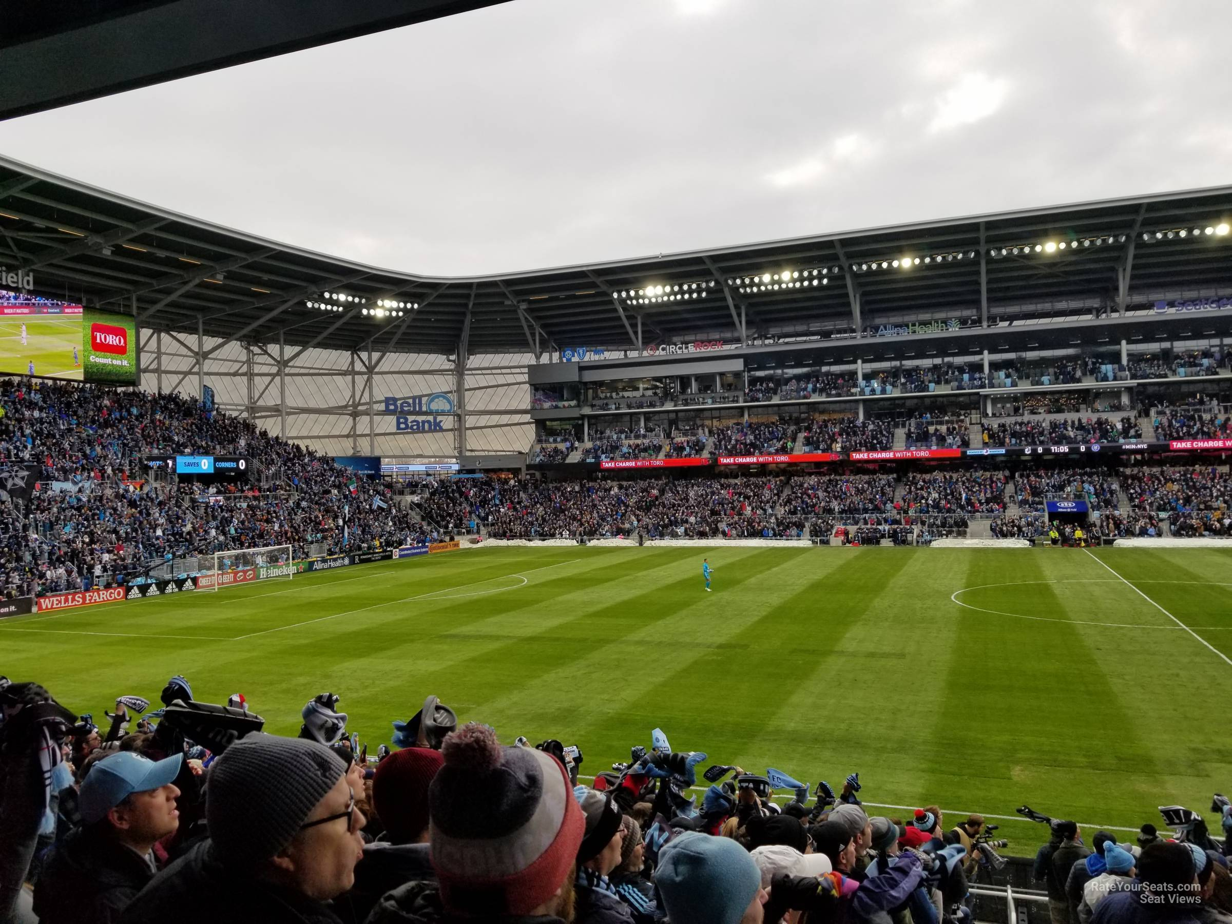 Seat View for Allianz Field Section 14, Row 18