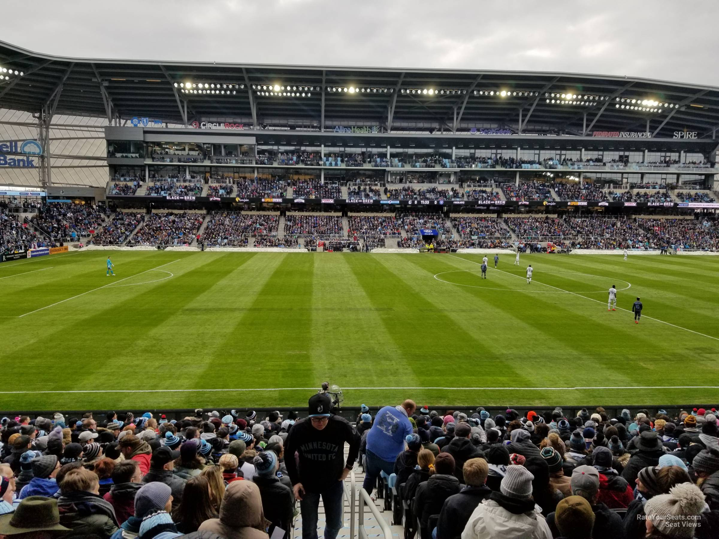 Seat View for Allianz Field Section 15, Row 18