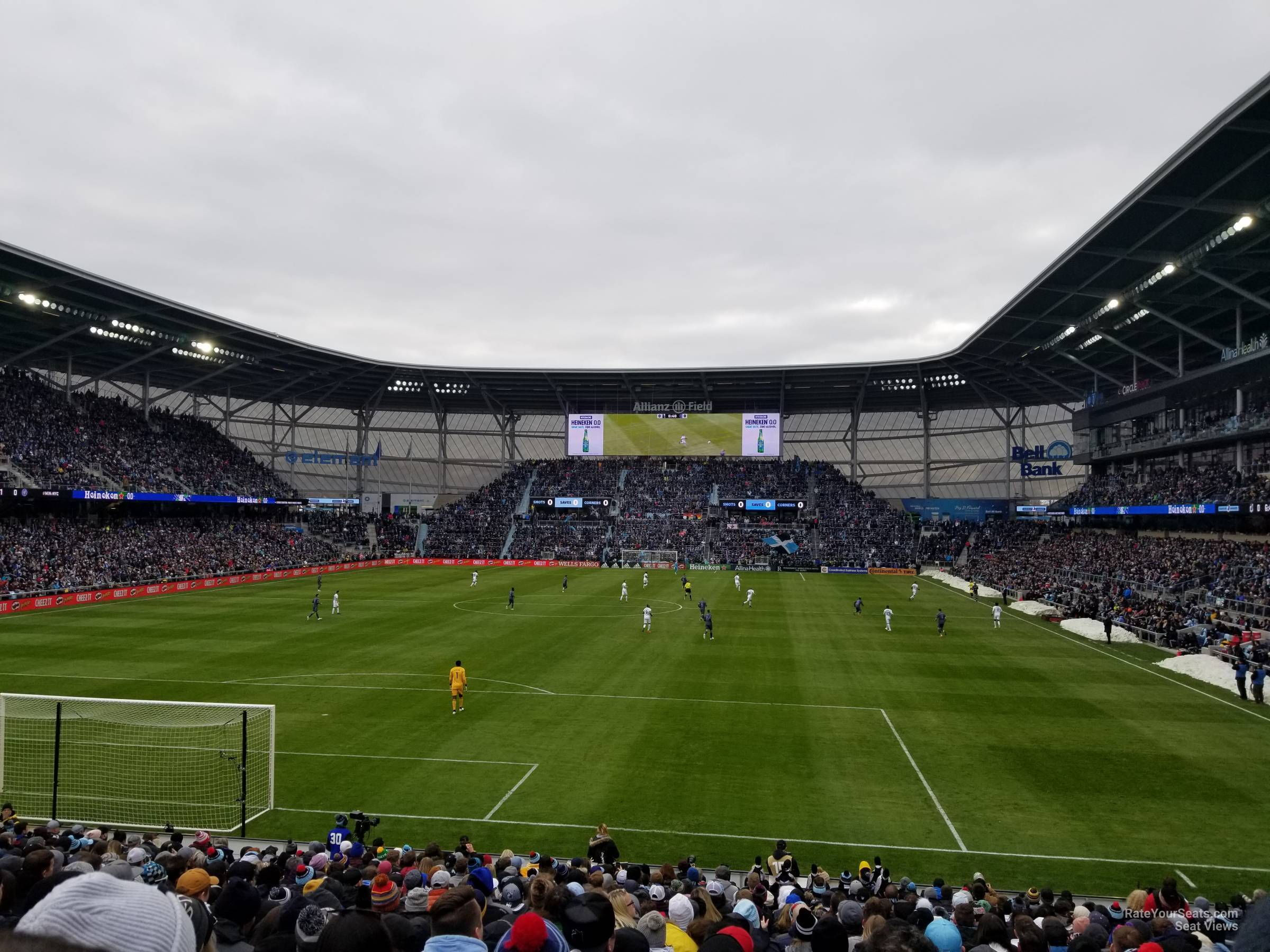 Seat View for Allianz Field Section 2, Row 20