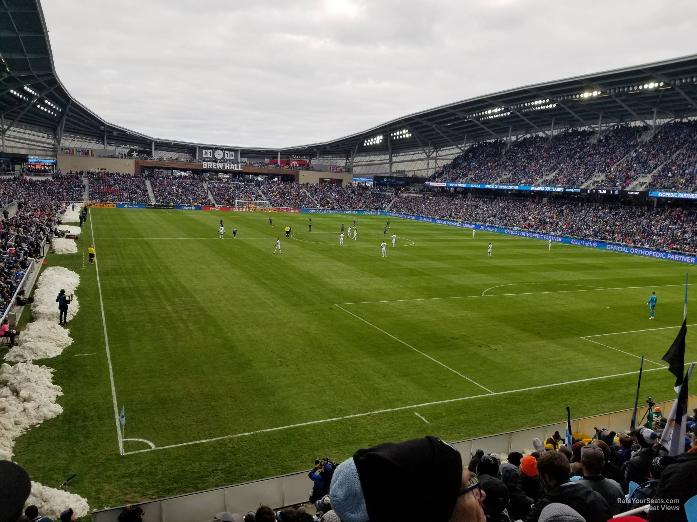 Seat View for Allianz Field Section 24, Row GENERAL