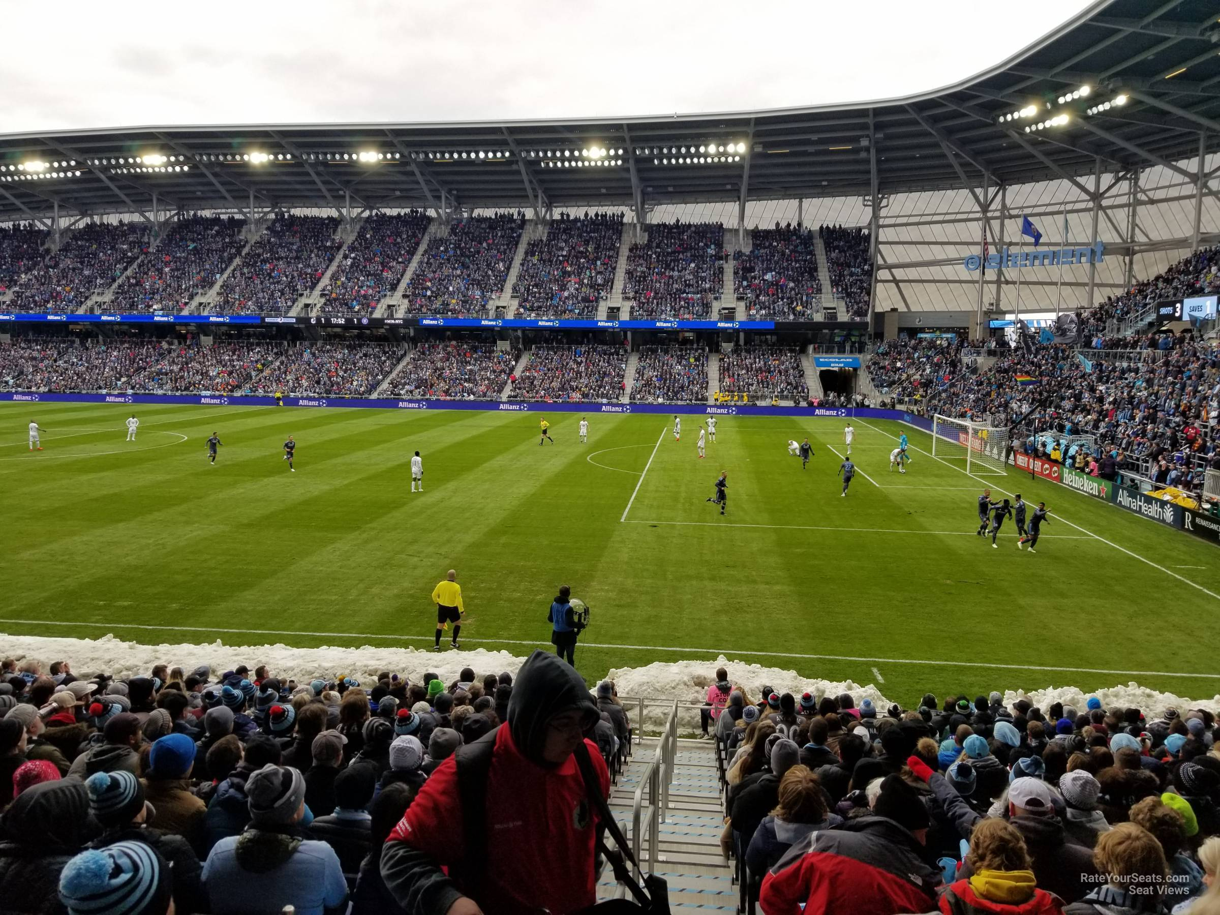 Seat View for Allianz Field Section 28, Row 18