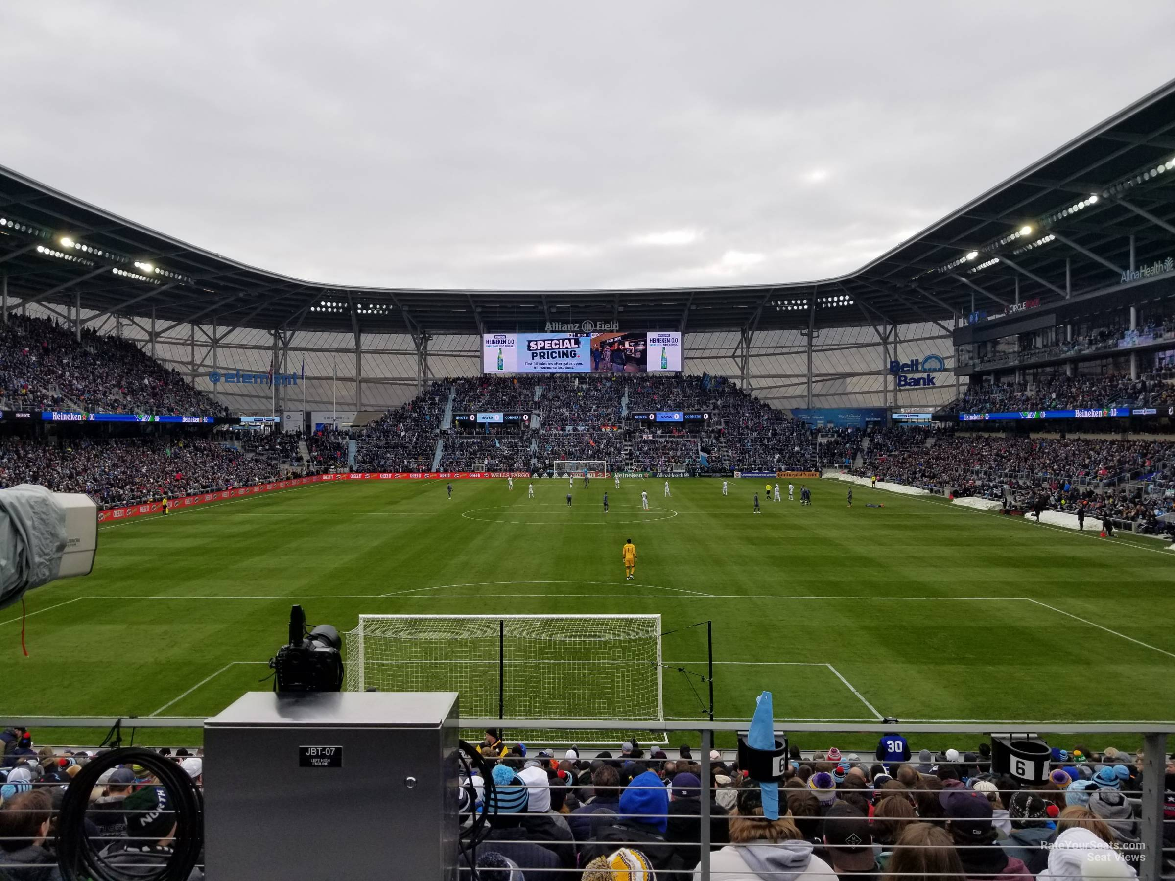 Seat View for Allianz Field Section 3, Row 20