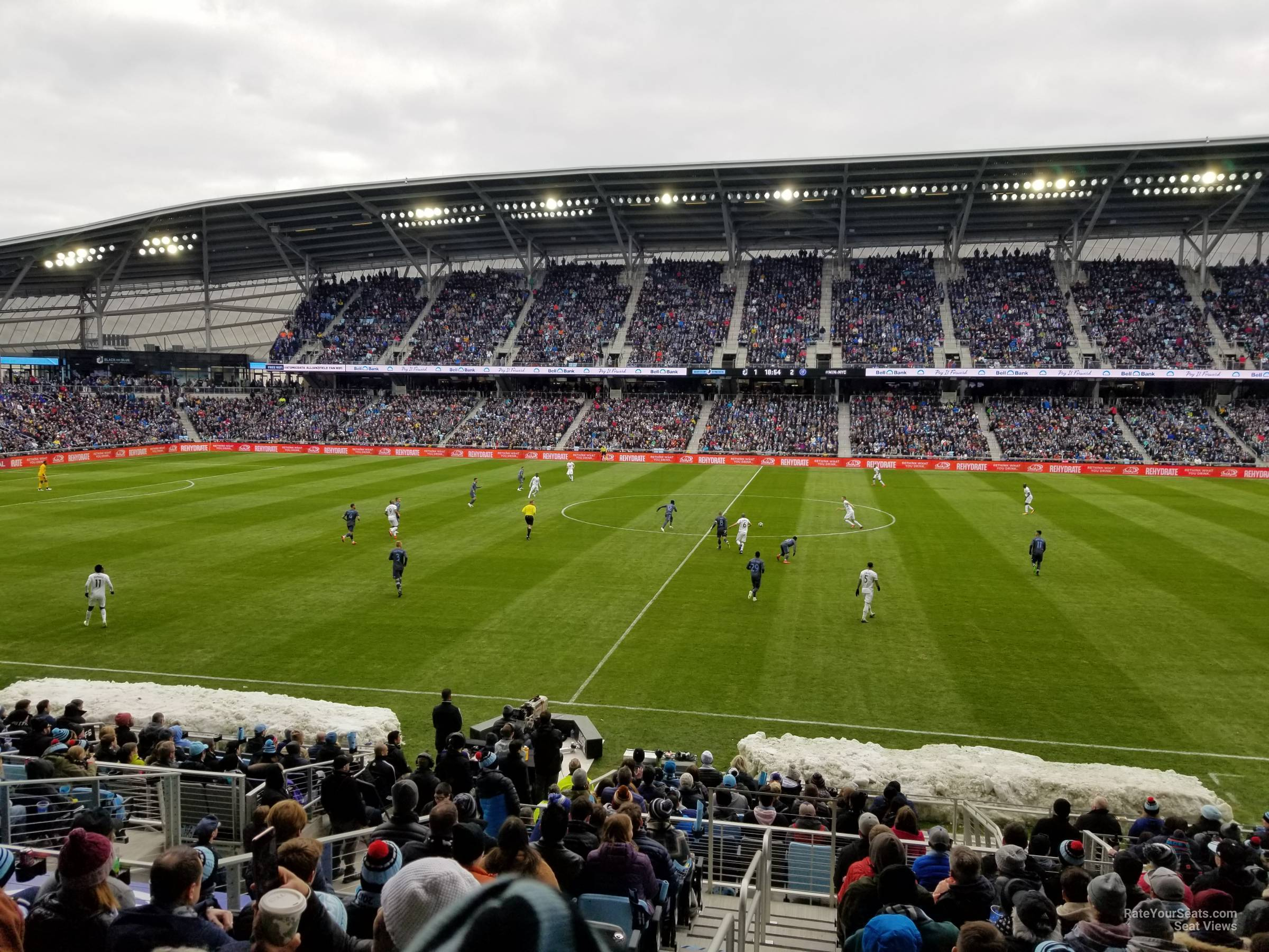 Seat View for Allianz Field Section 31, Row 18