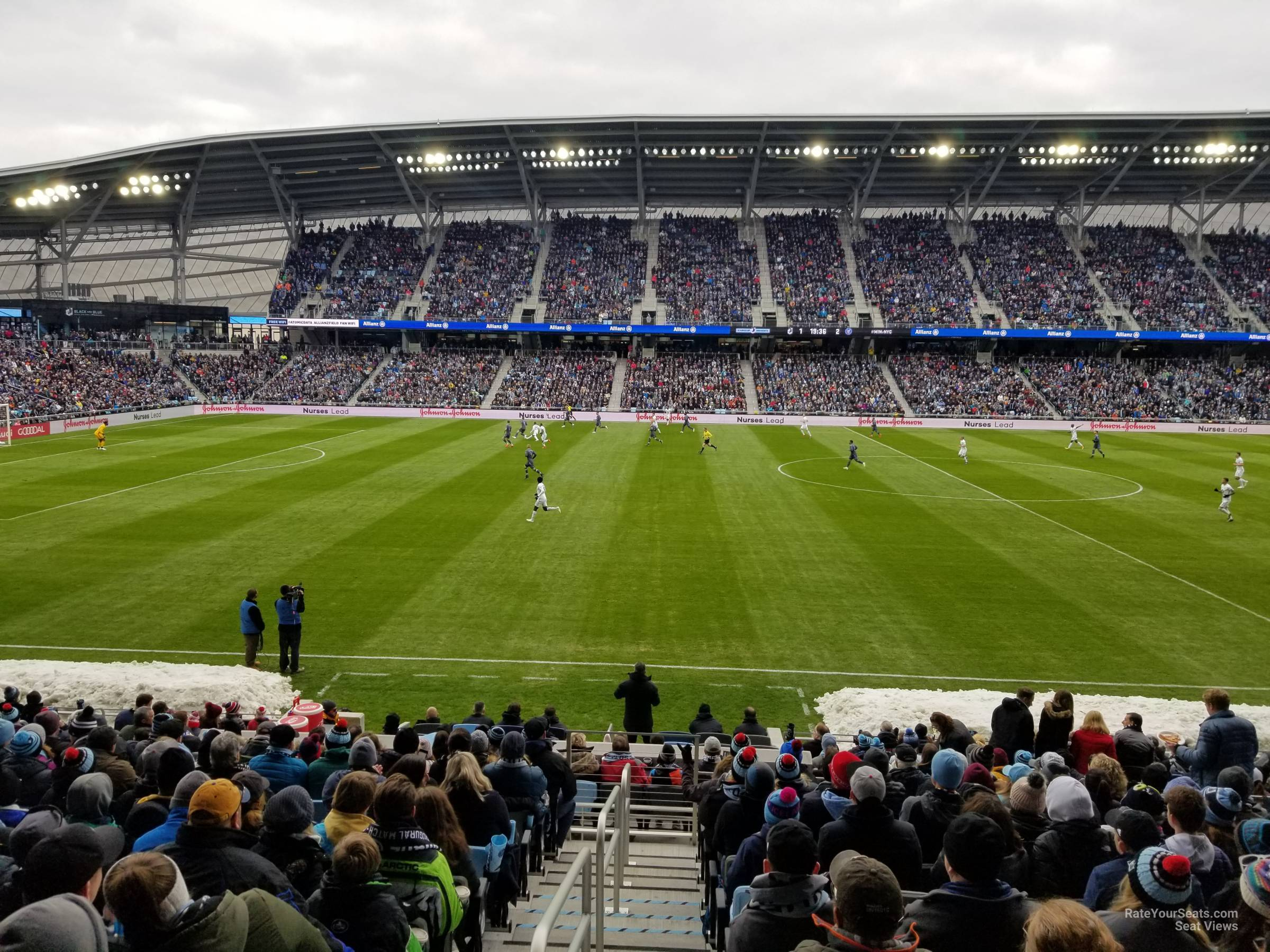 Seat View for Allianz Field Section 33, Row 18