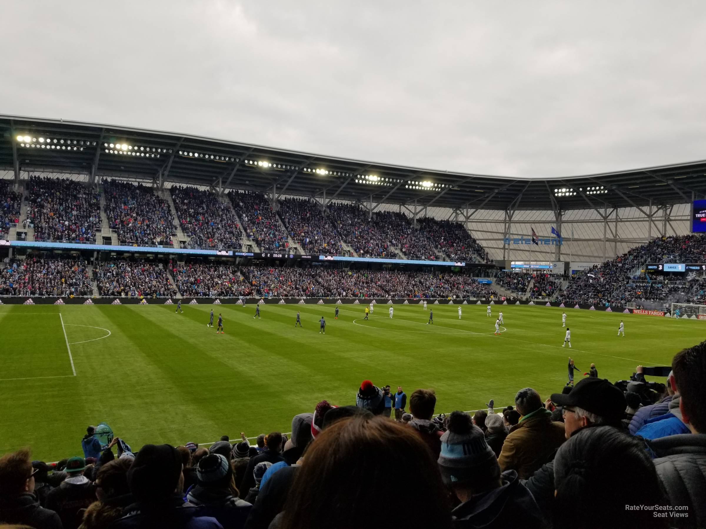 Seat View for Allianz Field Section 35, Row 19