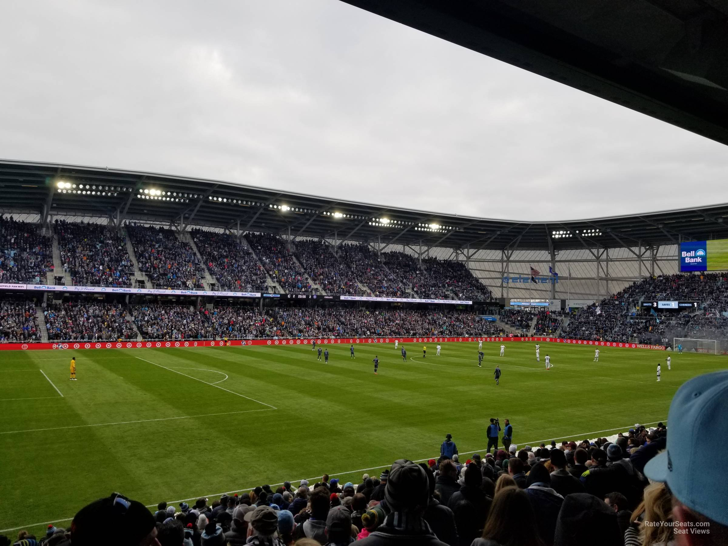Seat View for Allianz Field Section 36, Row 18