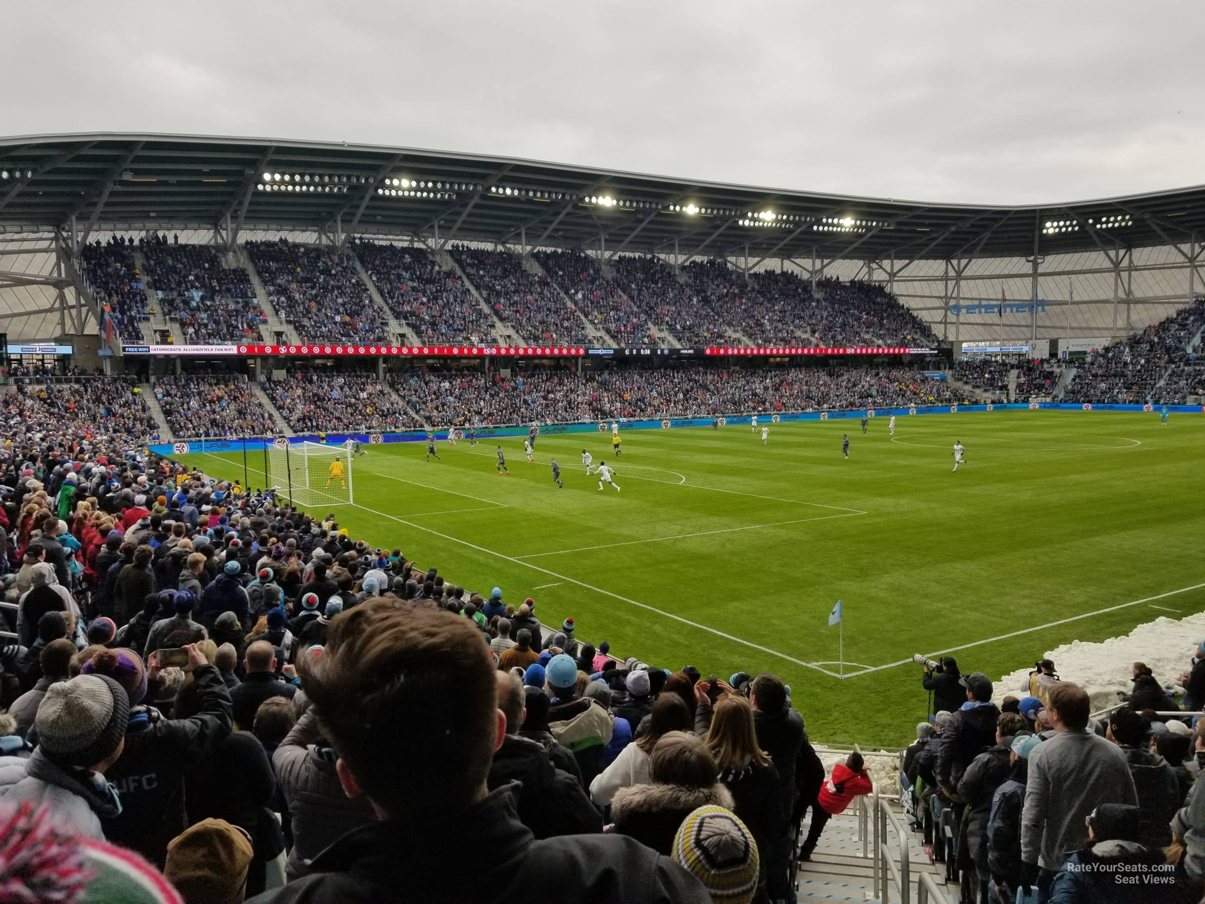 Seat View for Allianz Field Section 37, Row 18