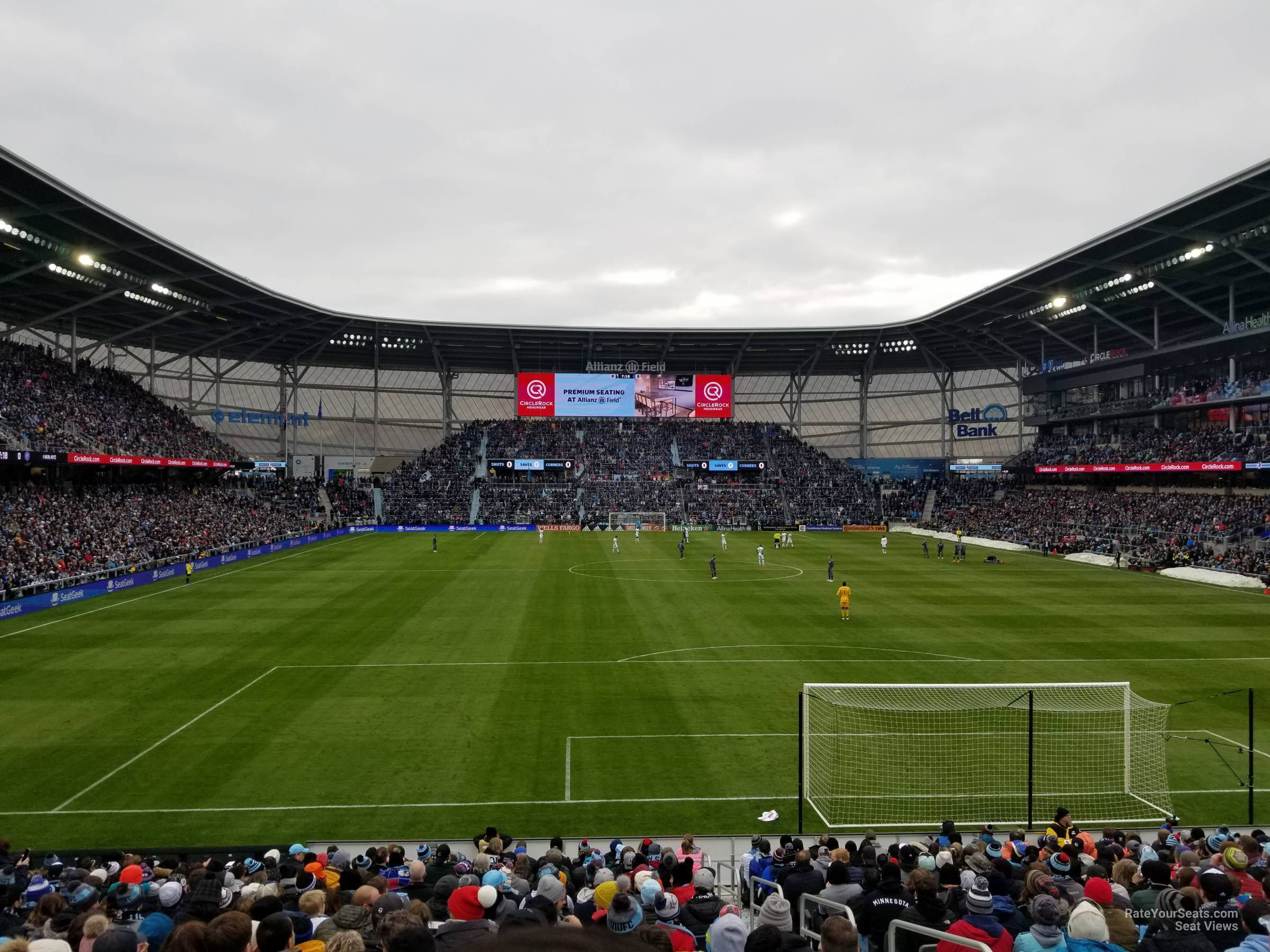 Seat View for Allianz Field Section 4, Row 20