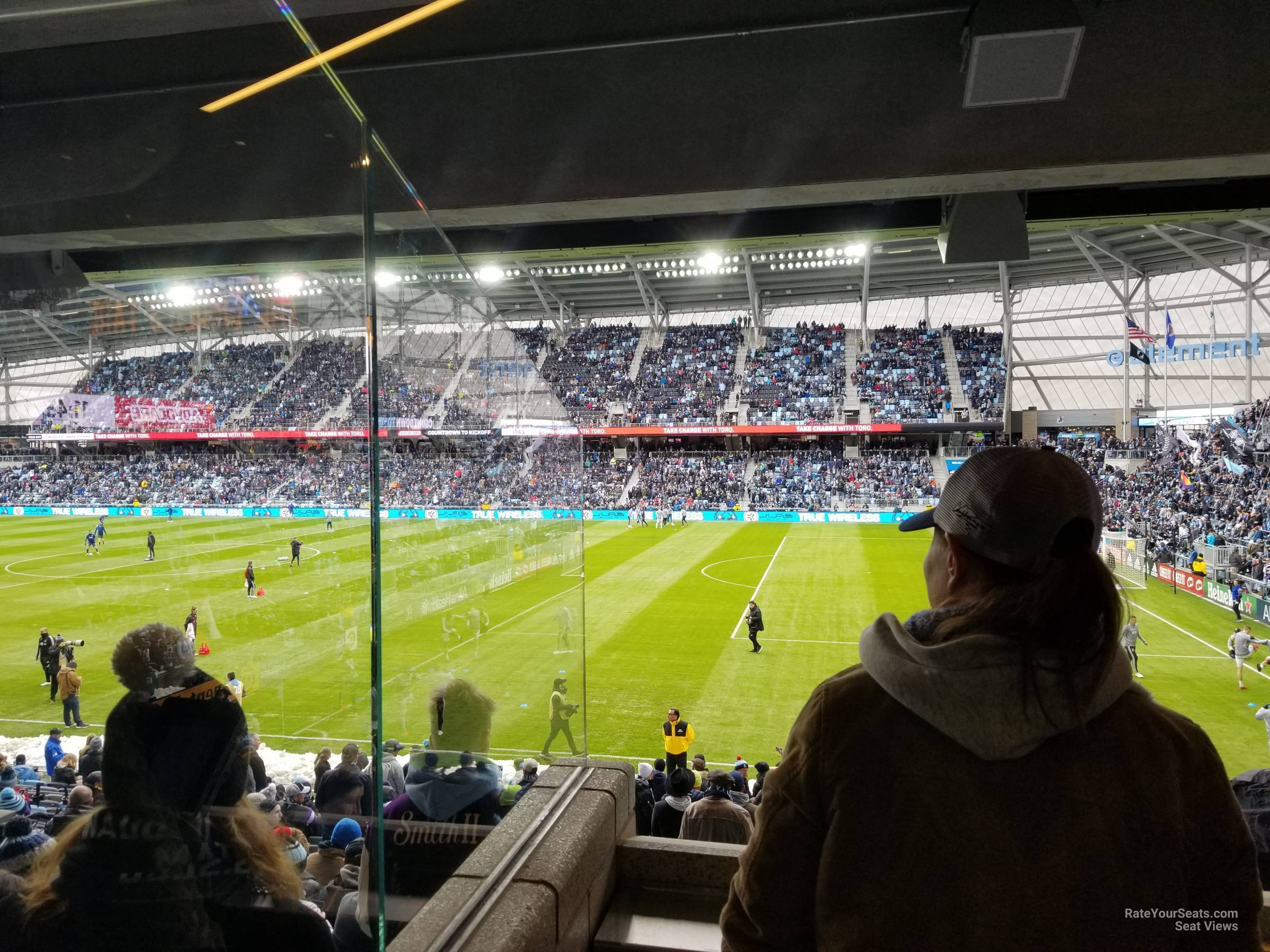 Seat View for Allianz Field Loge 28, Row RESERVED