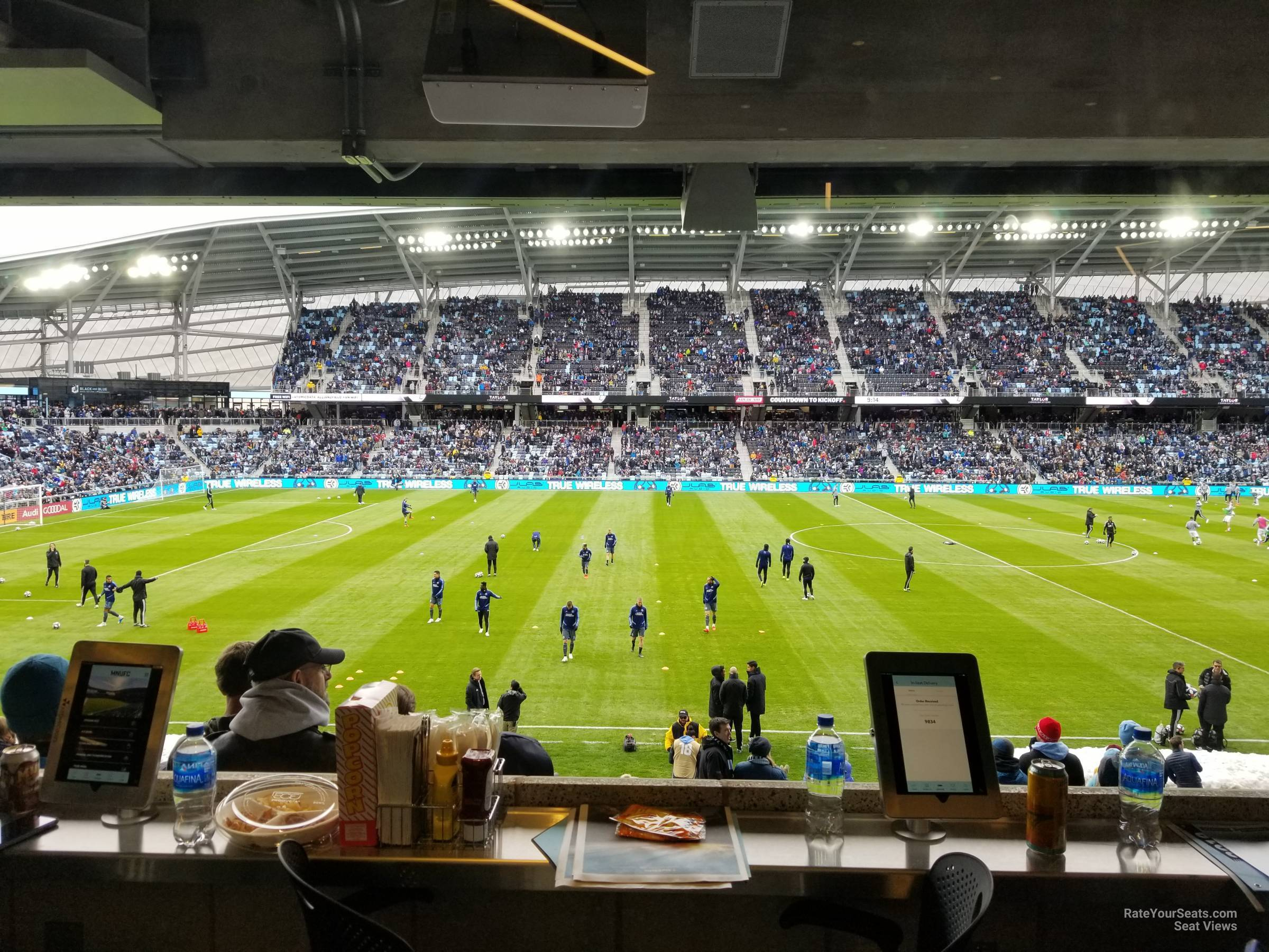Seat View for Allianz Field Loge 34, Row RESERVED