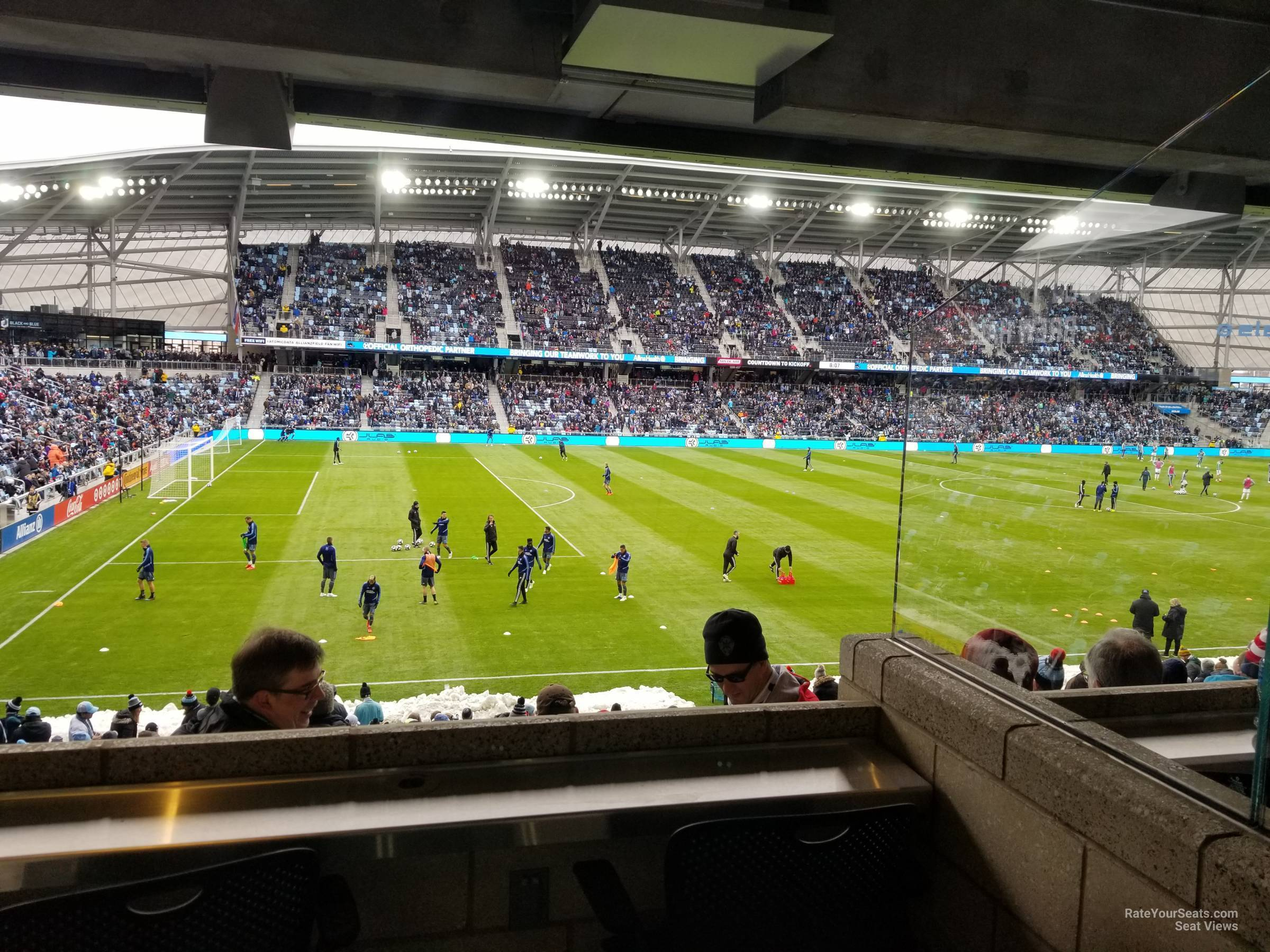 Seat View for Allianz Field Loge 36, Row RESERVED