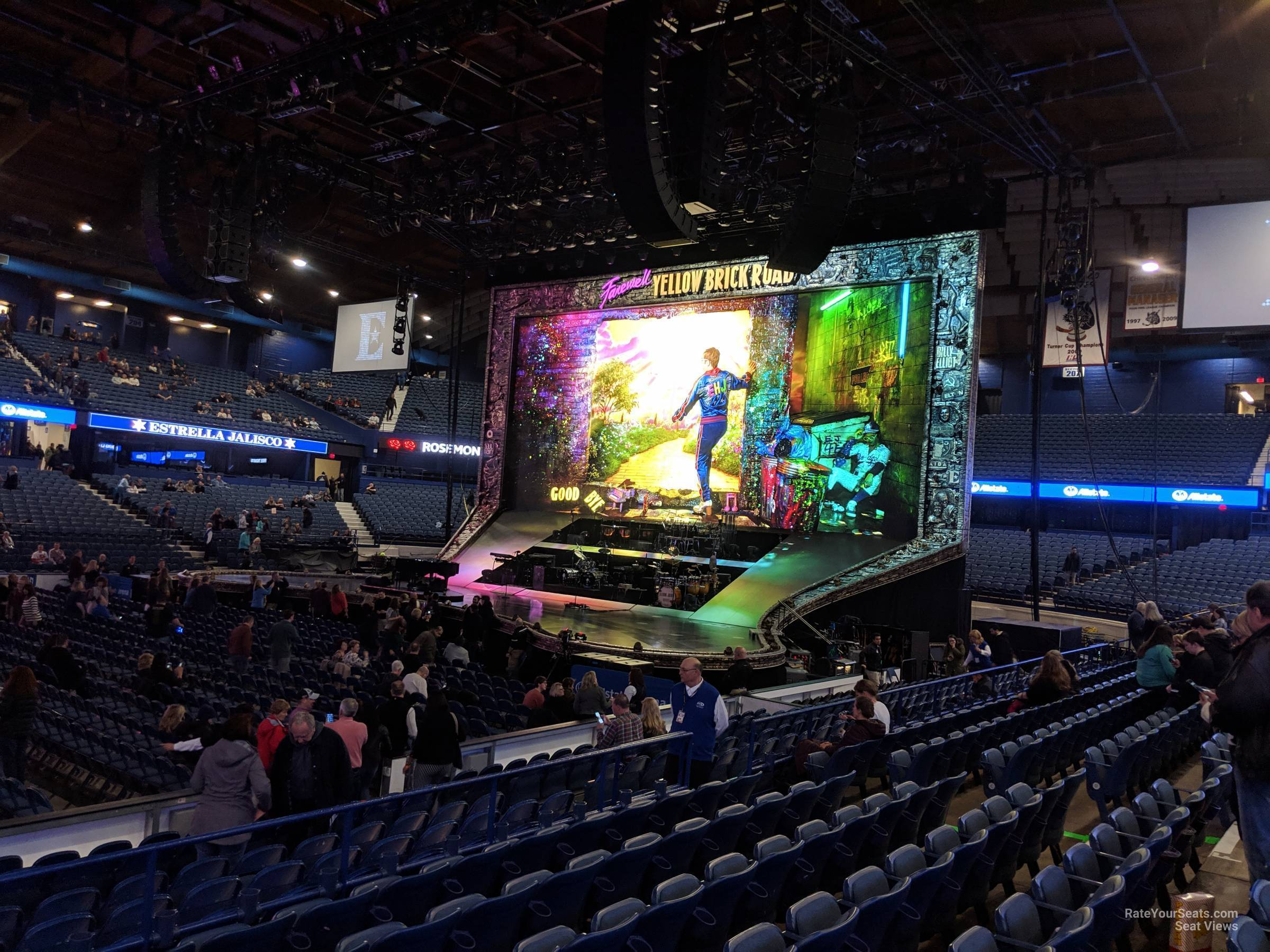Allstate Arena Section 111 Concert Seating - RateYourSeats.com