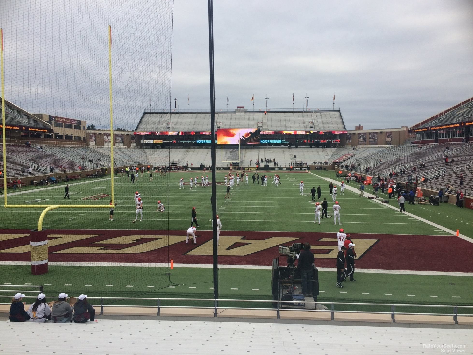 Seat View for Alumni Stadium Section K, Row 20