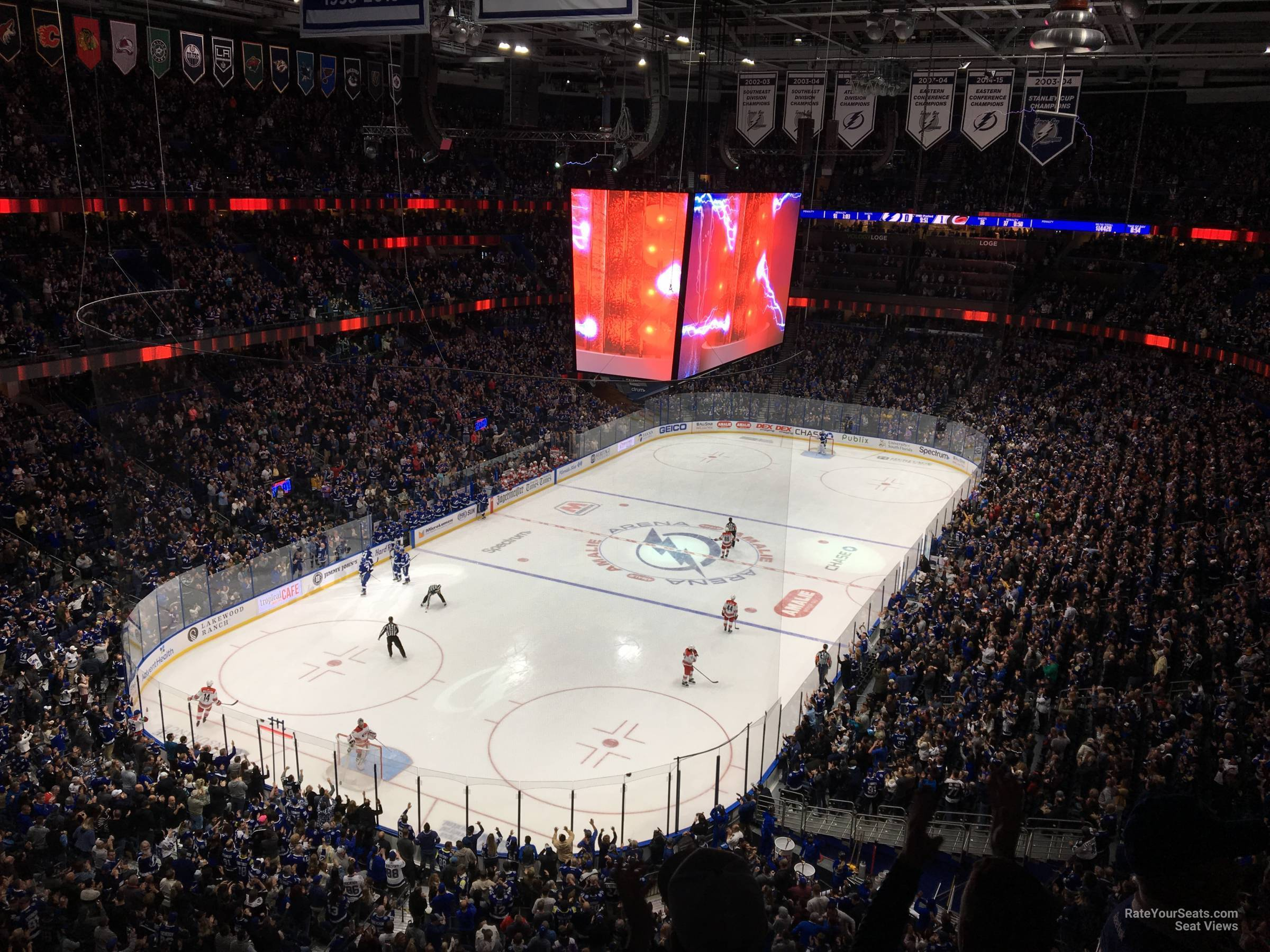 Section 321 seat view