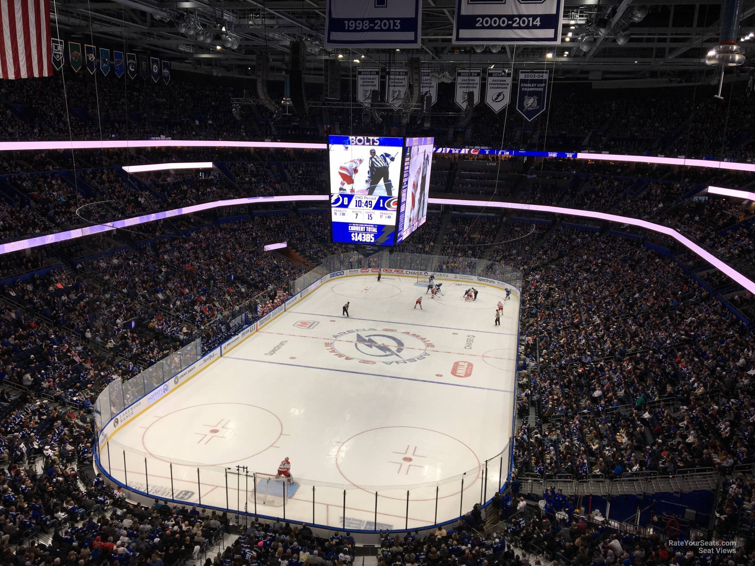 Section 322 seat view