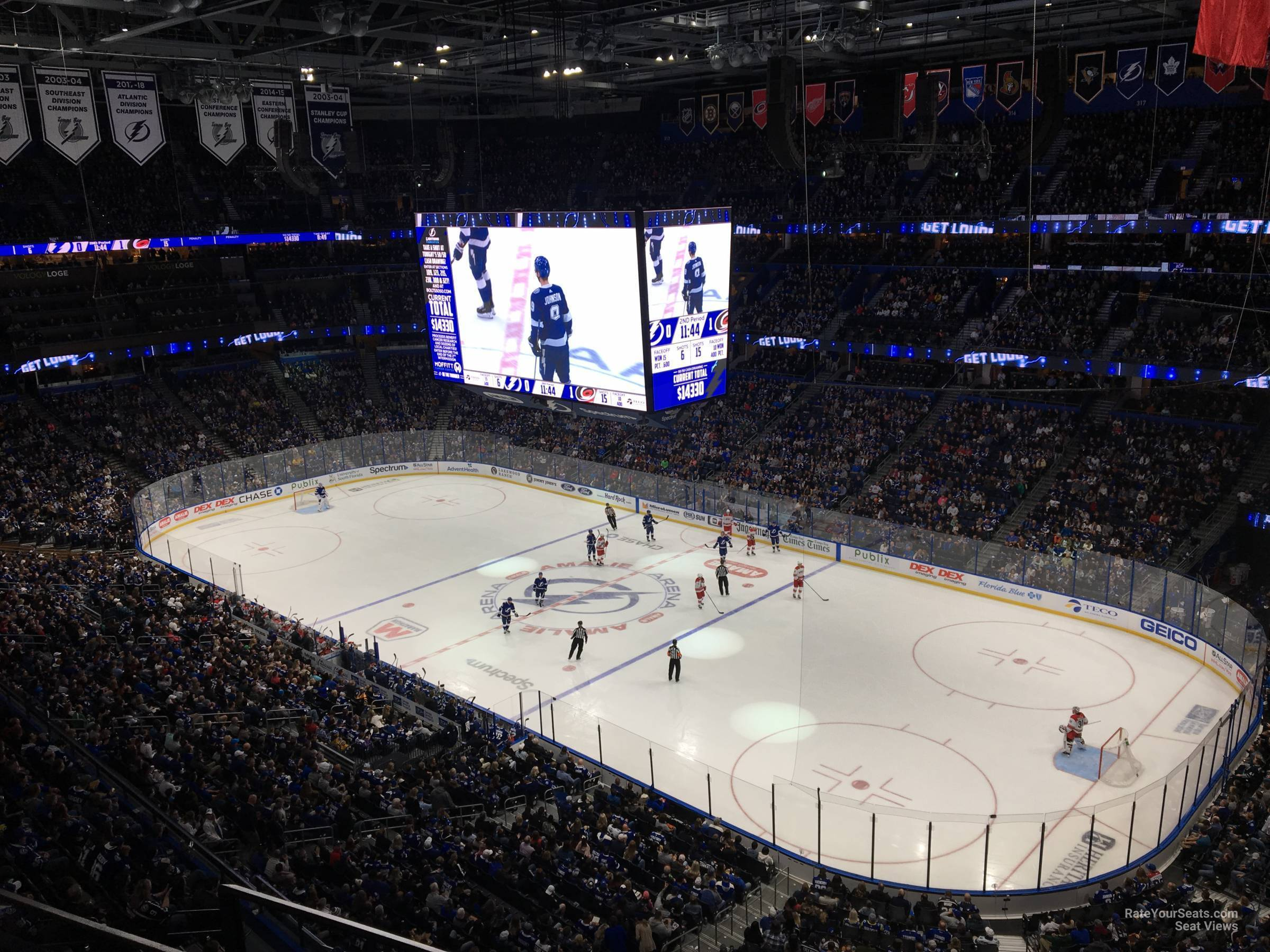 Section 327 seat view