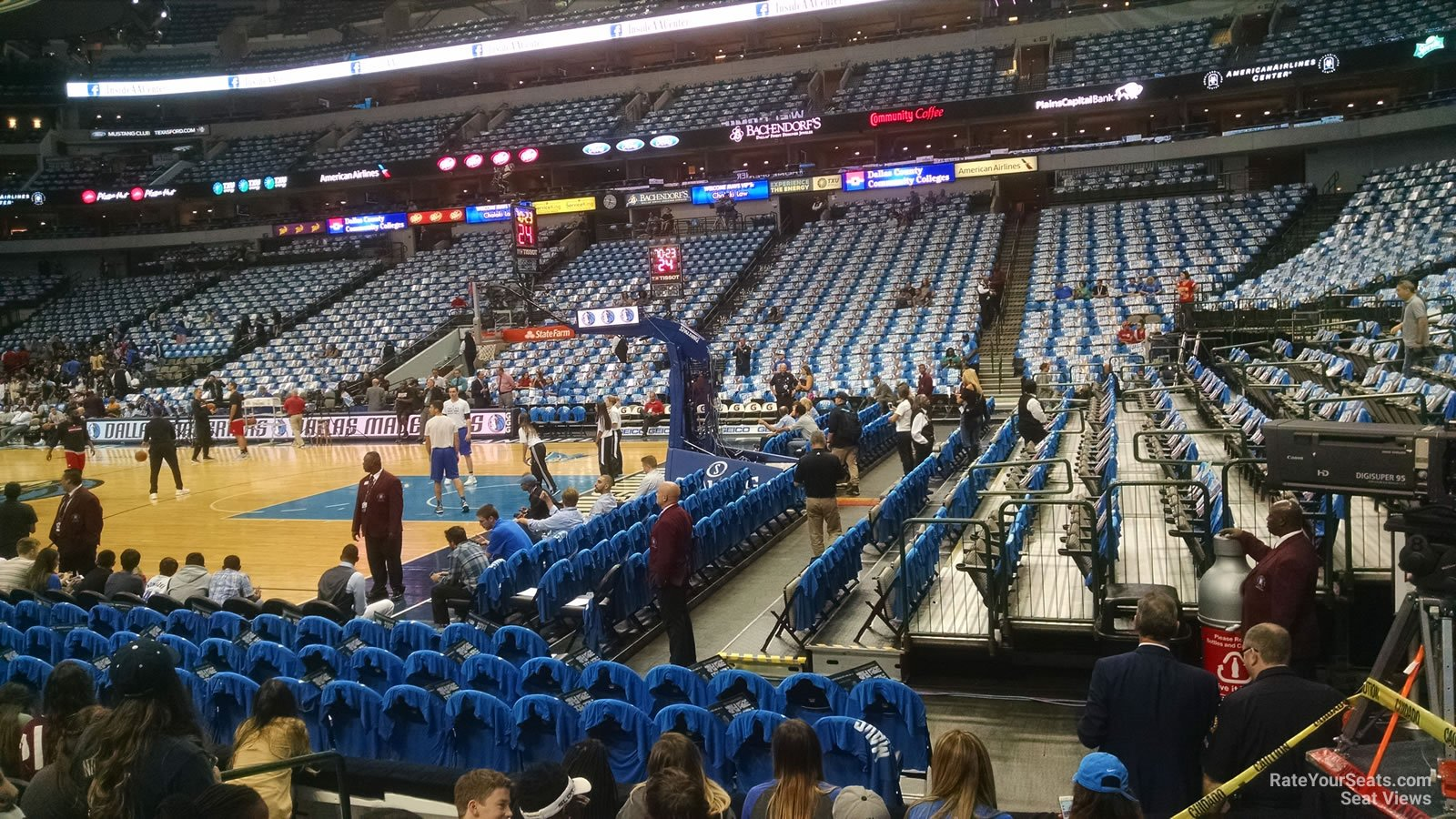 American Airlines Center Section 104 Dallas Mavericks